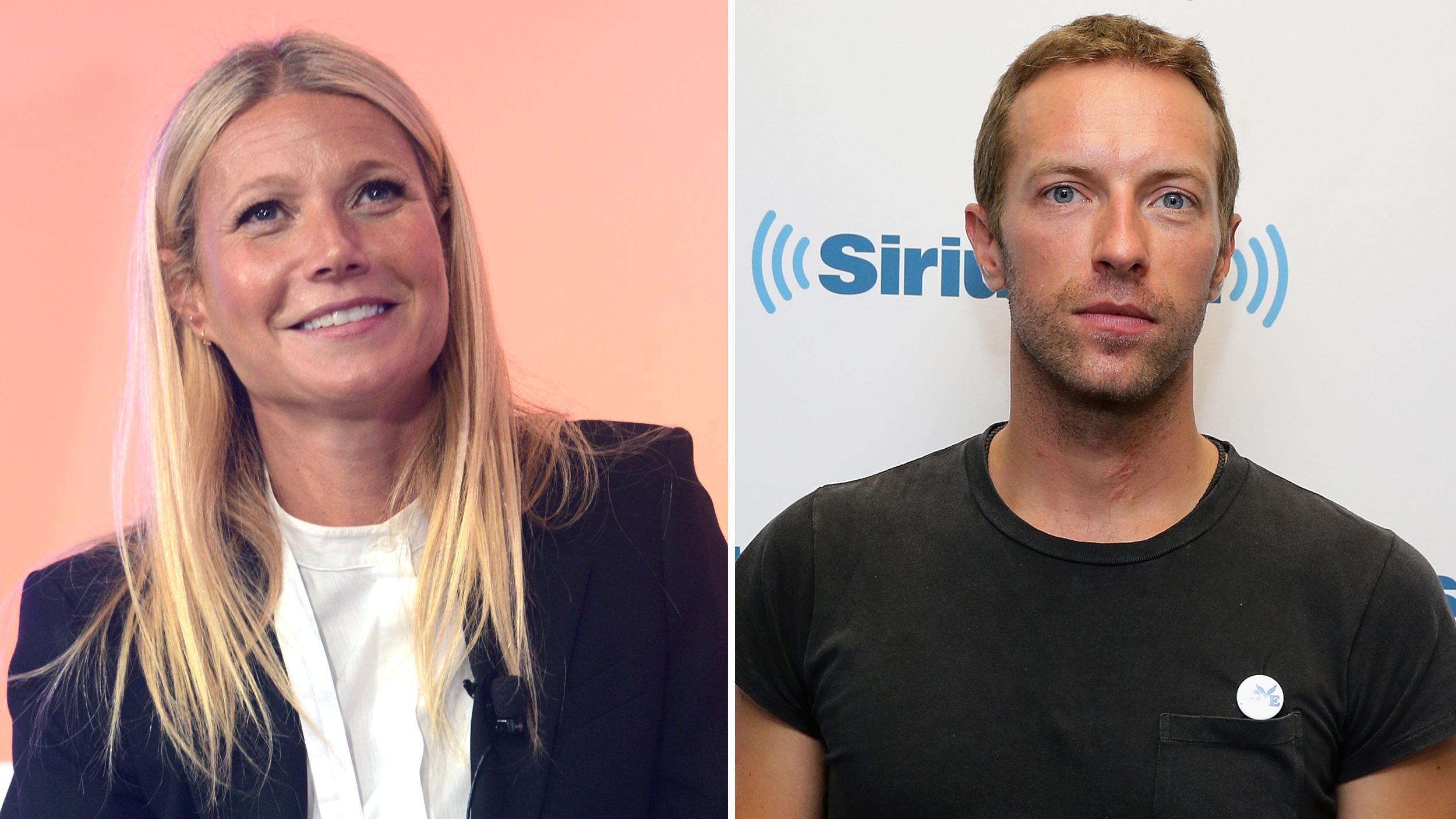Gwyneth Paltrow And Chris Martin 2015