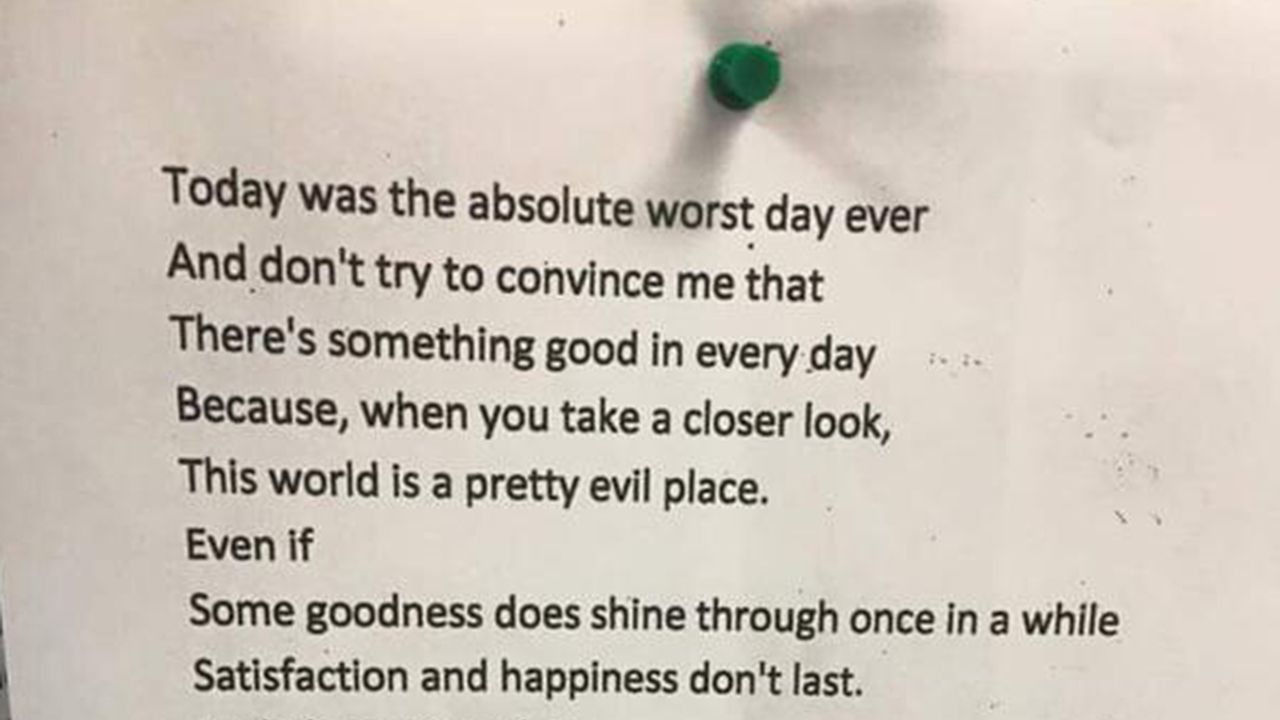 brooklyn teen u0026 39 s poem is viral after man finds in london