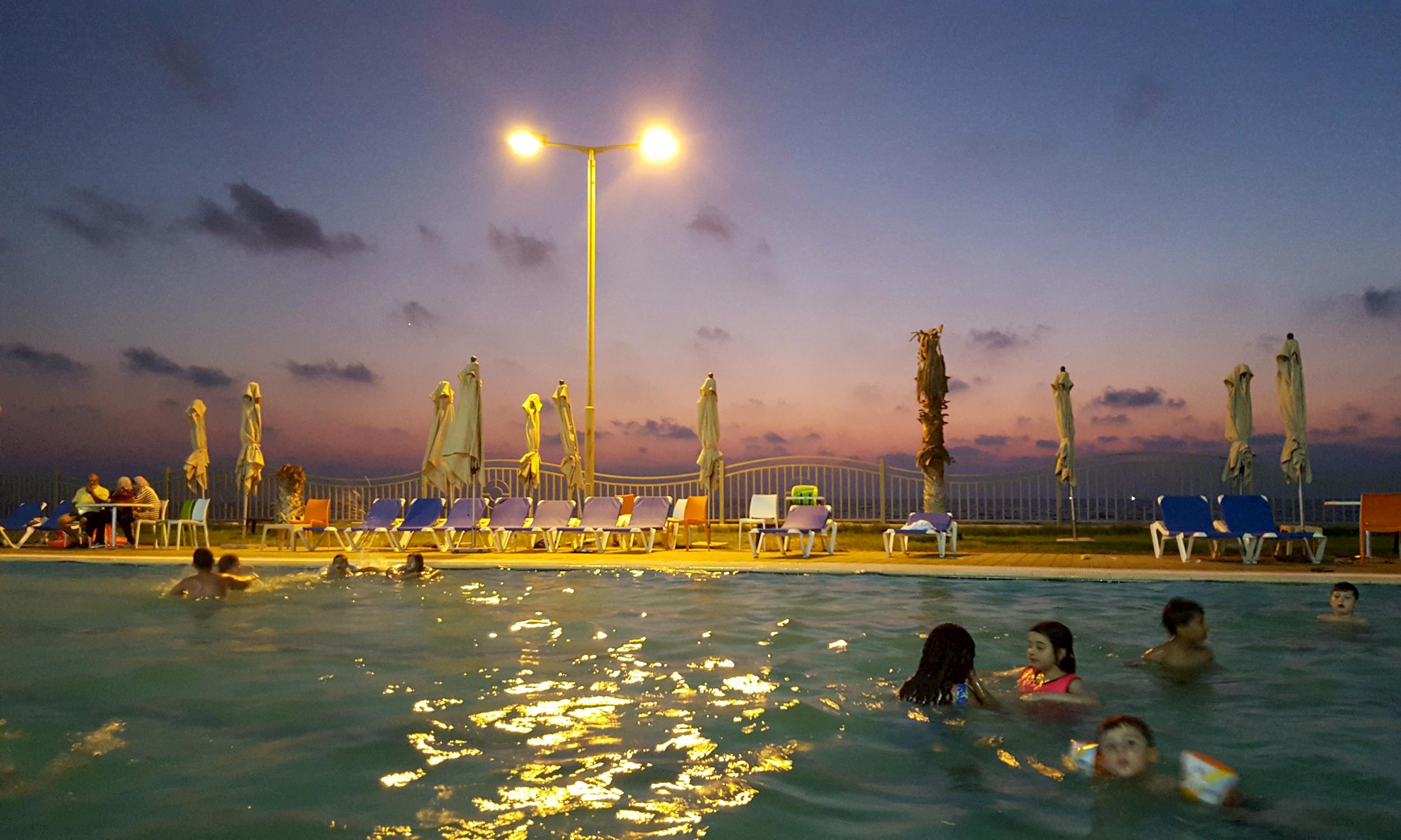 Gaza Resort Offers Oasis in War-Torn Land