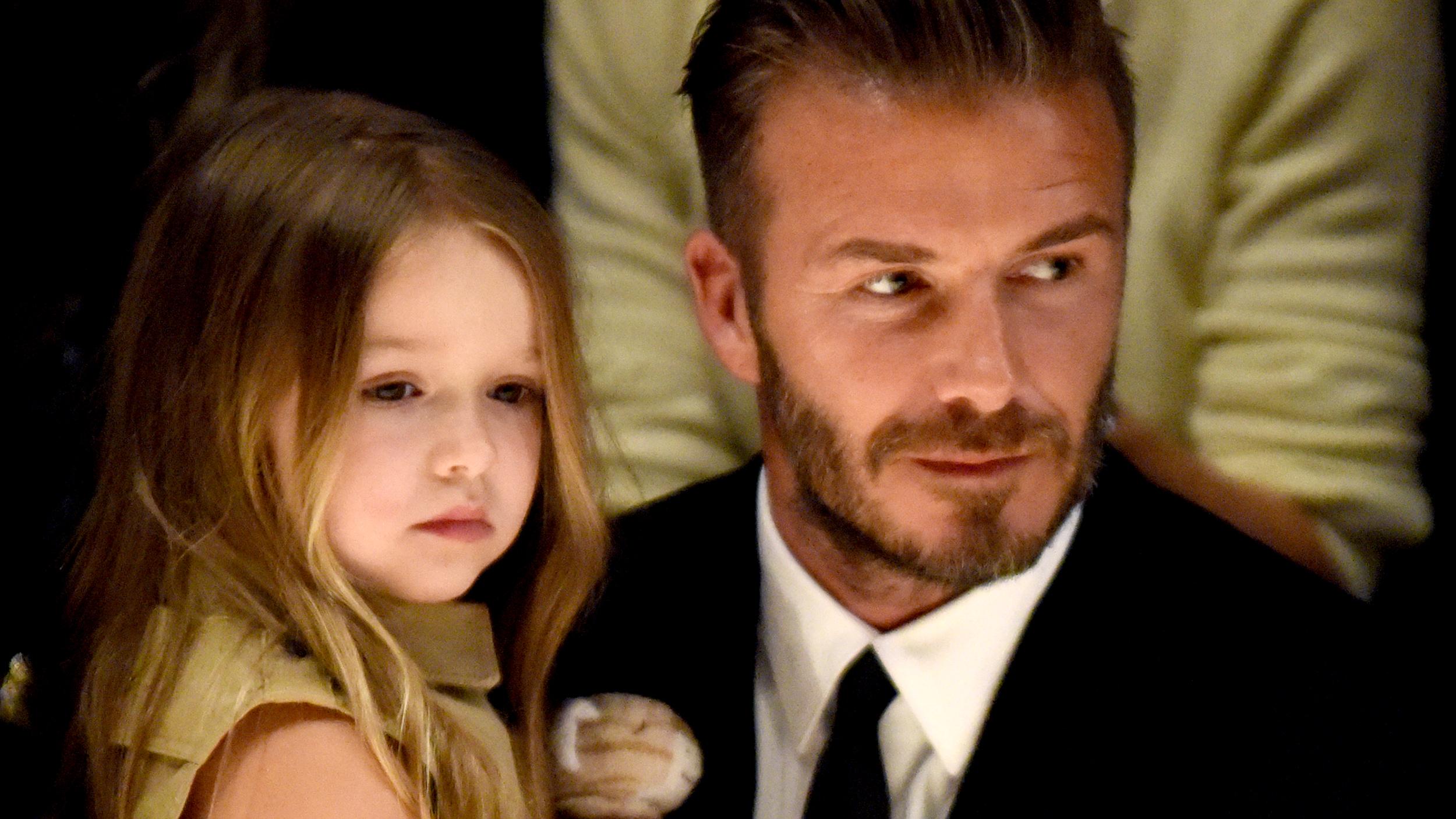 David Beckham Shows Off Sweet New Tattoo Designed By Daughter Harper