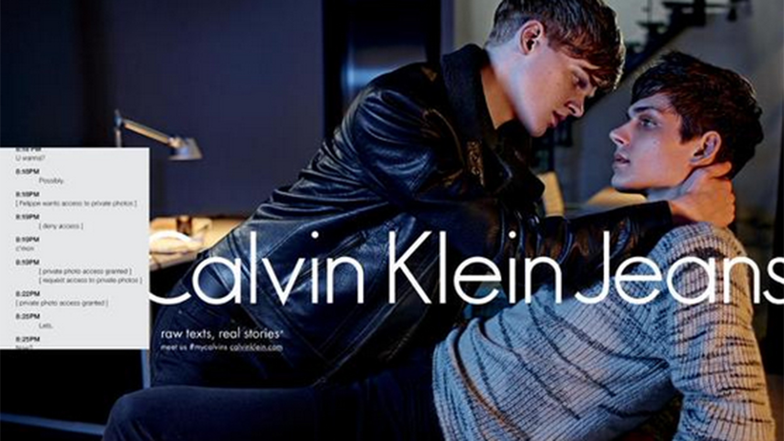 Sext sells: Calvin Klein's new ads target the Tinder ...
