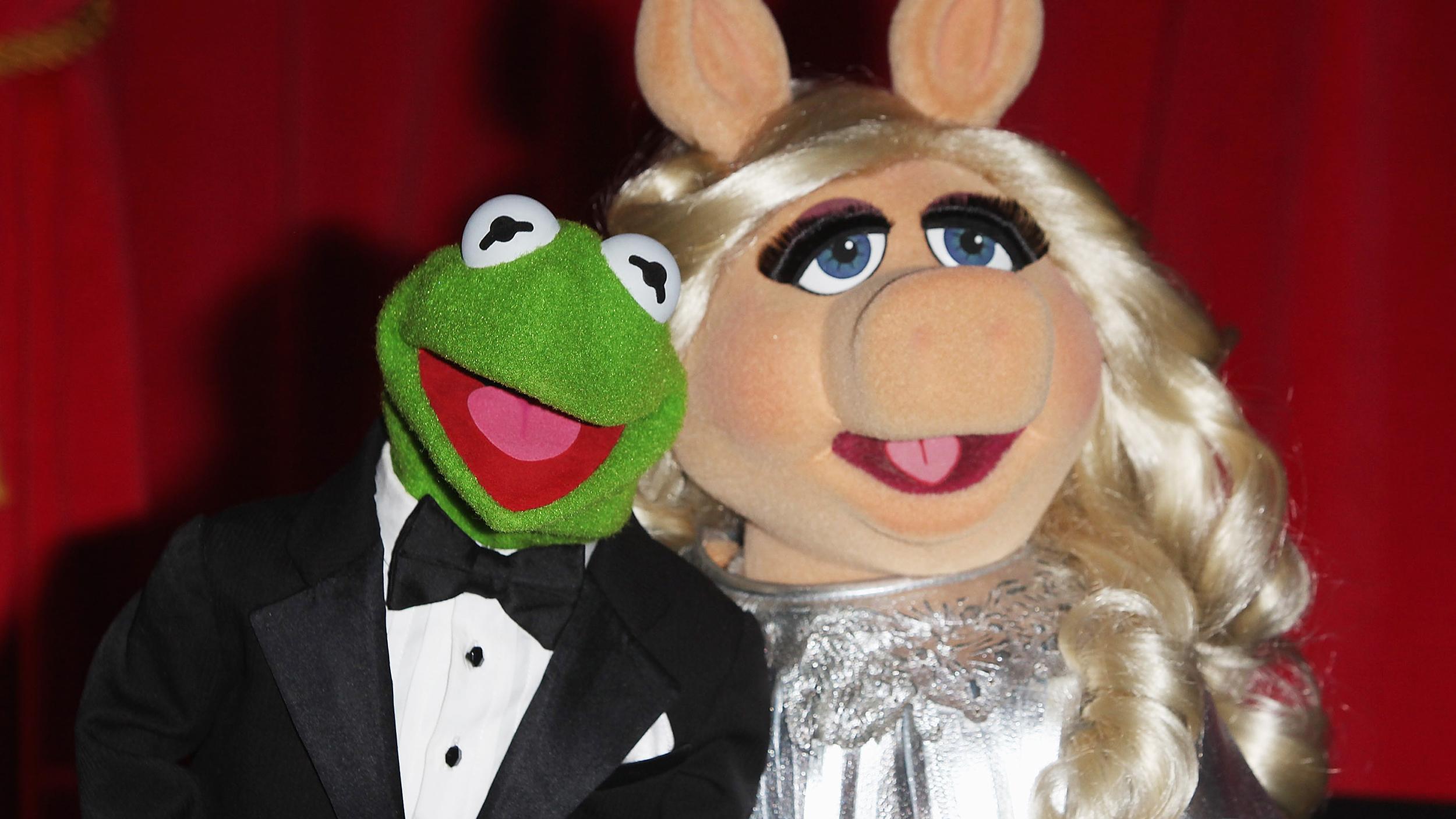 Kermit and Miss Piggy ...