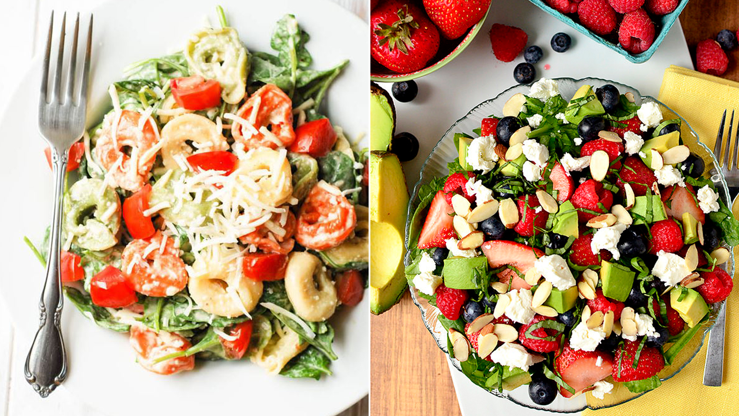 7 pinterest approved healthy summer salad recipes - Cuisine pinterest ...