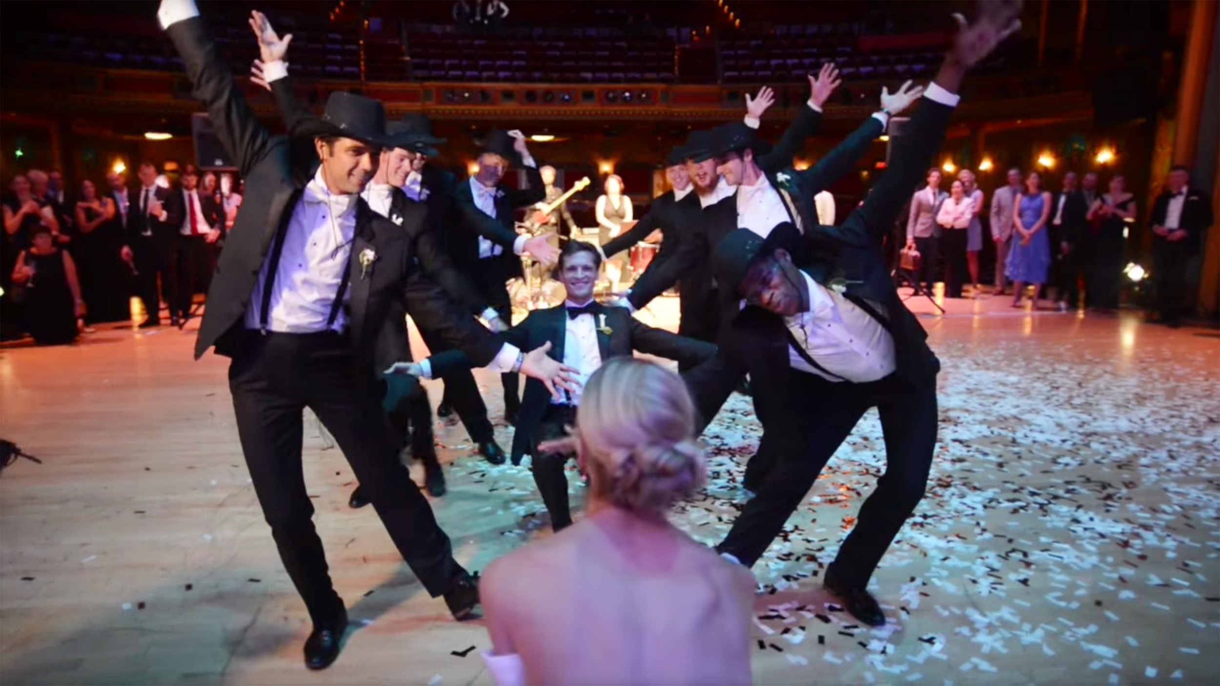 Kirk Henning A Professional Dancer Surprises Bride With An Epic Wedding Dance