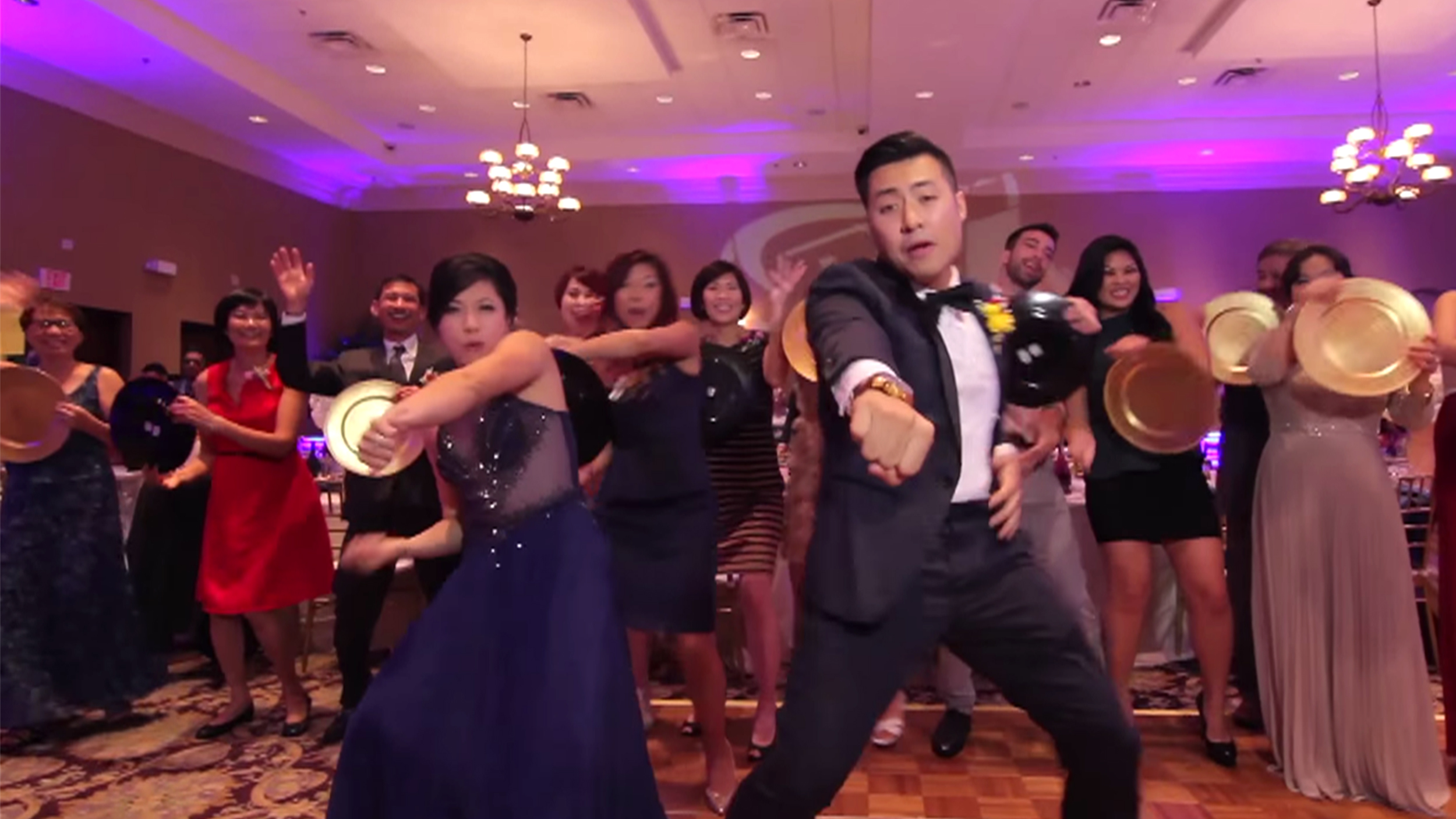 Couple Makes Most Epic Wedding Video Ever 250 Guests 1 Take Tons Of Tunes