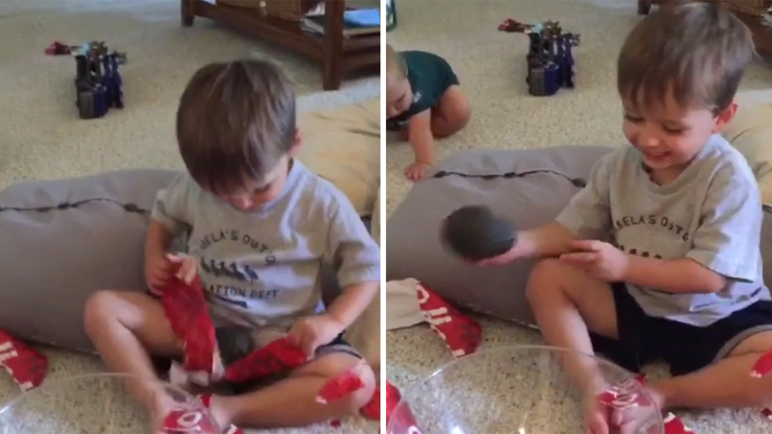 Dad tests son's manners with terrible birthday present: 'It's an ...