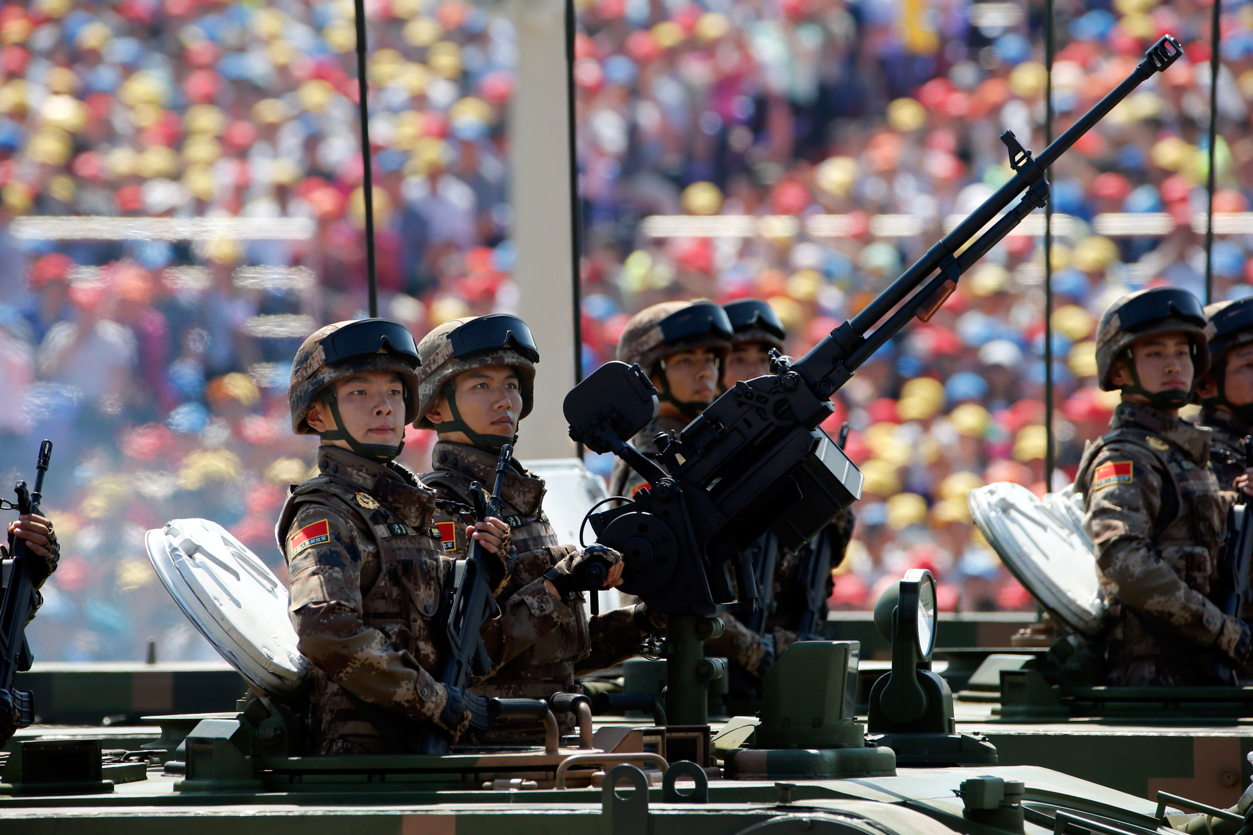 Huge Parade Can't Hide China Leader's Bruised Credibility