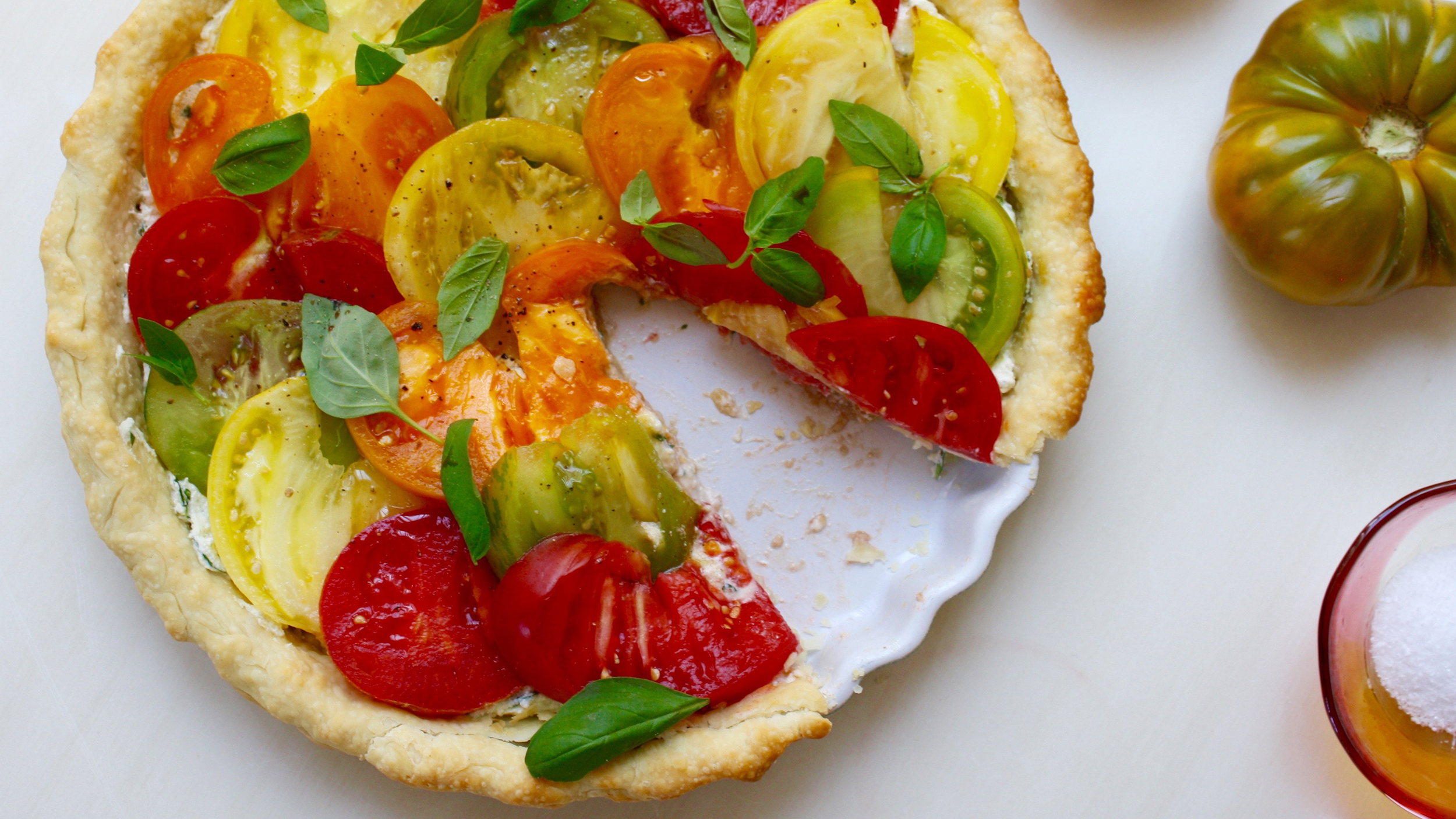 Easy Heirloom Tomato Tart - TODAY.com