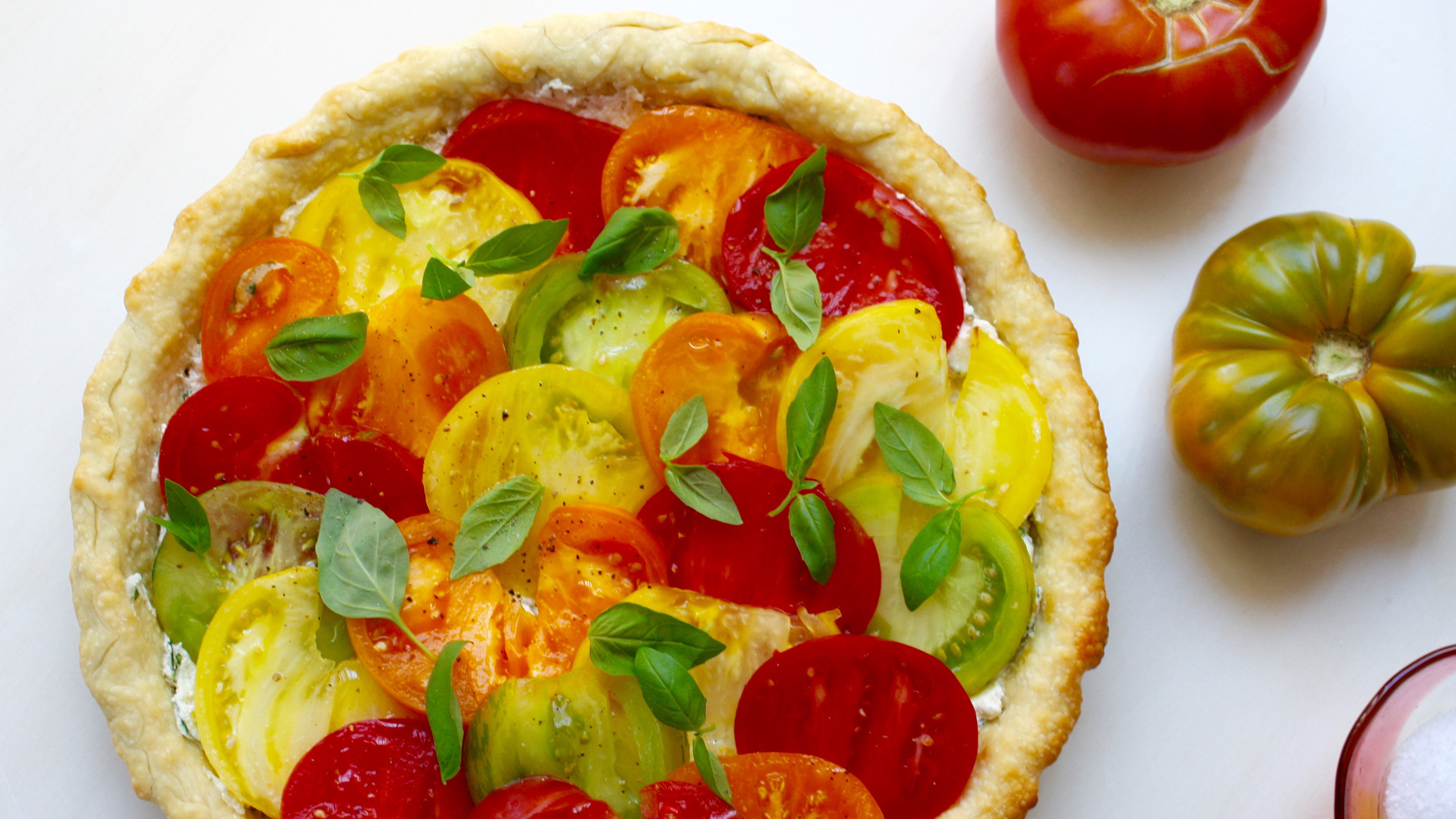 This heirloom tomato tart recipe is super-easy thanks to store-bought pie  dough - TODAY.com