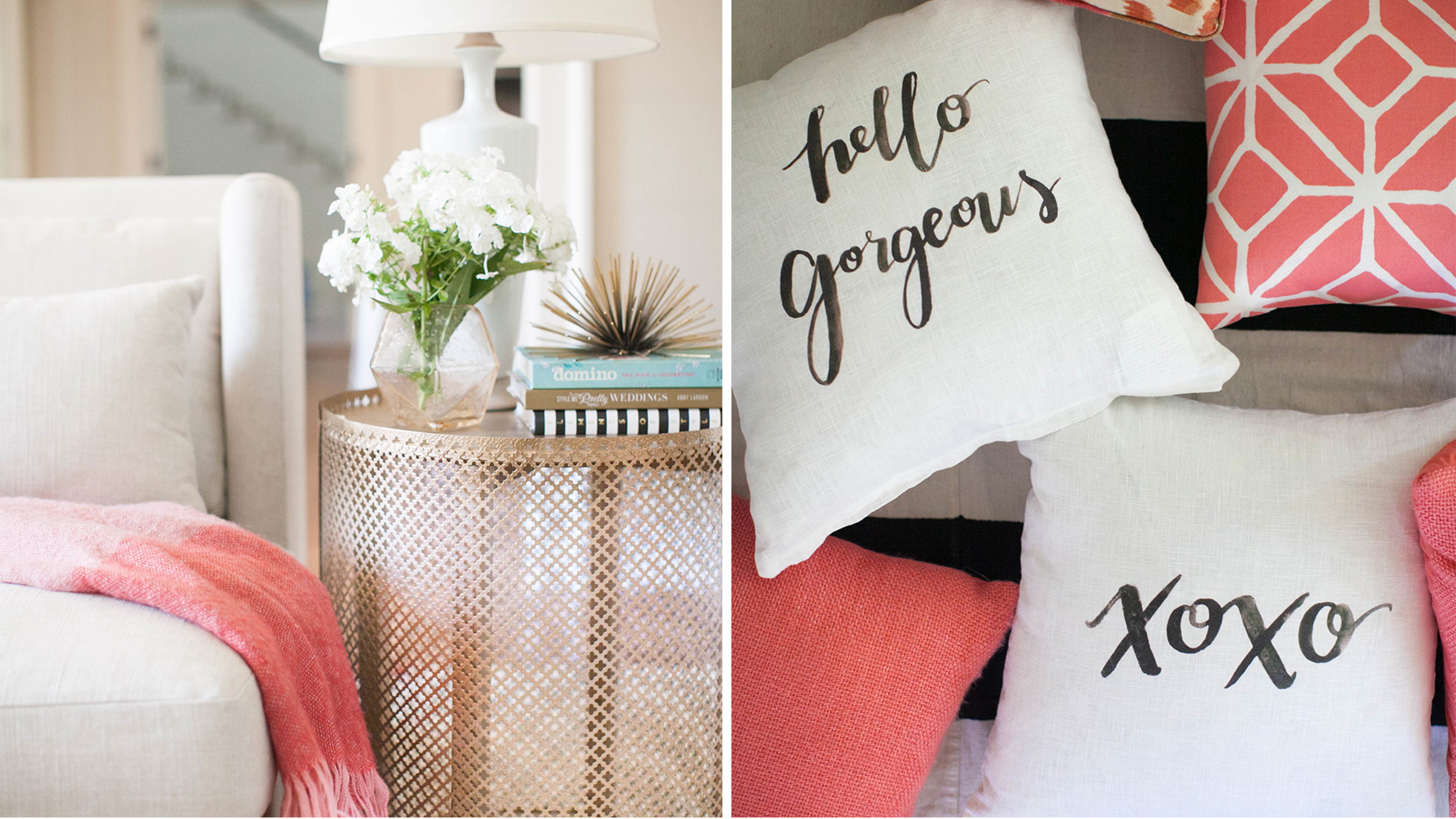 Luxe look for less 6 diys that add serious style to your for Home decor for less