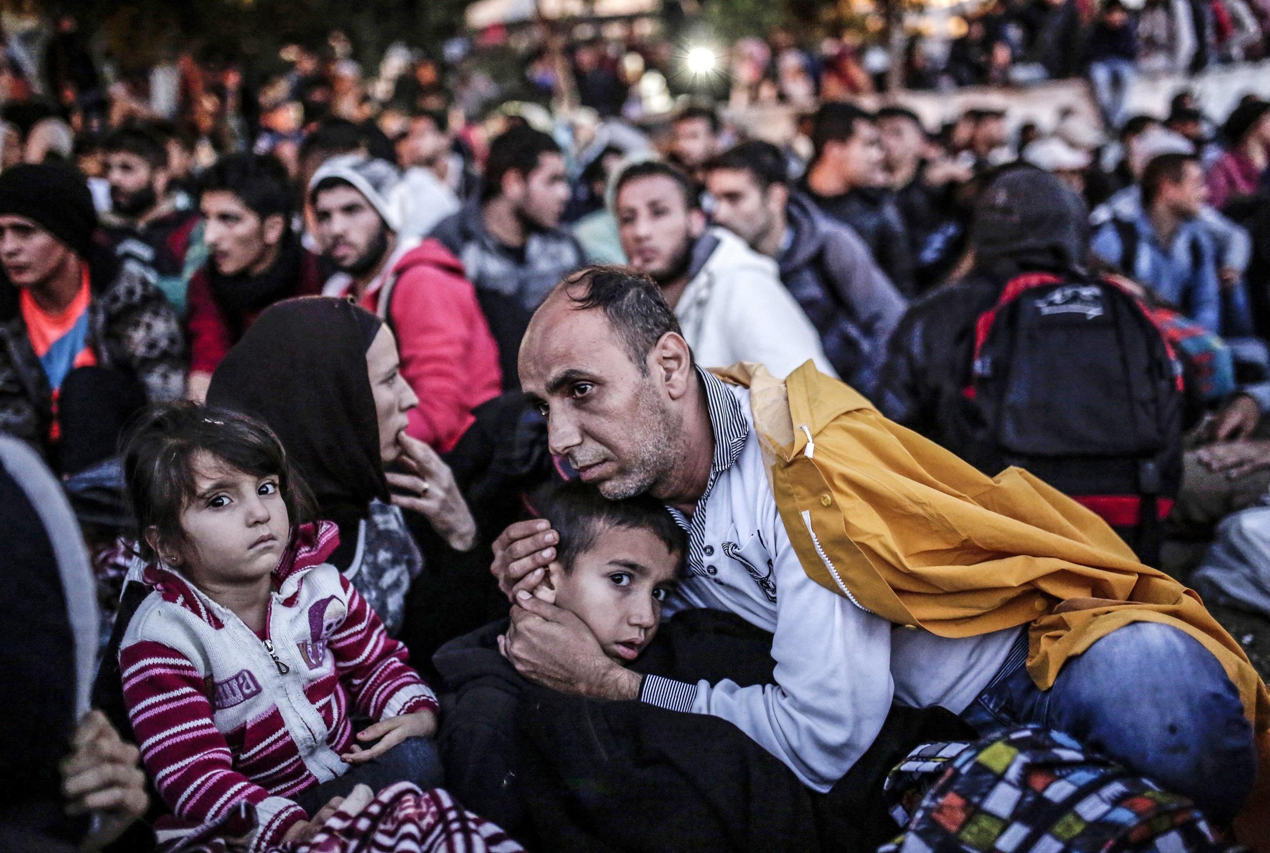 Image: TOPSHOTS-TURKEY-EUROPE-MIGRANTS