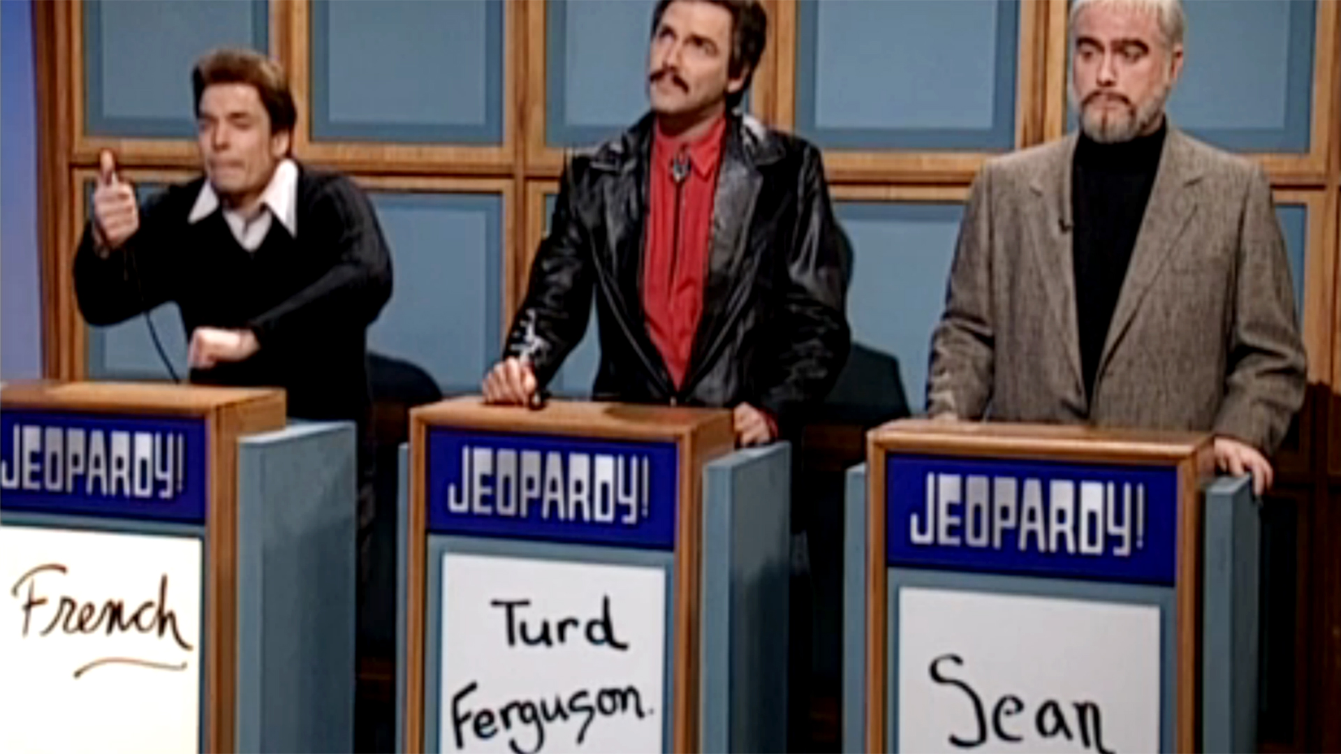 Celebrity jeopardy snl write a number