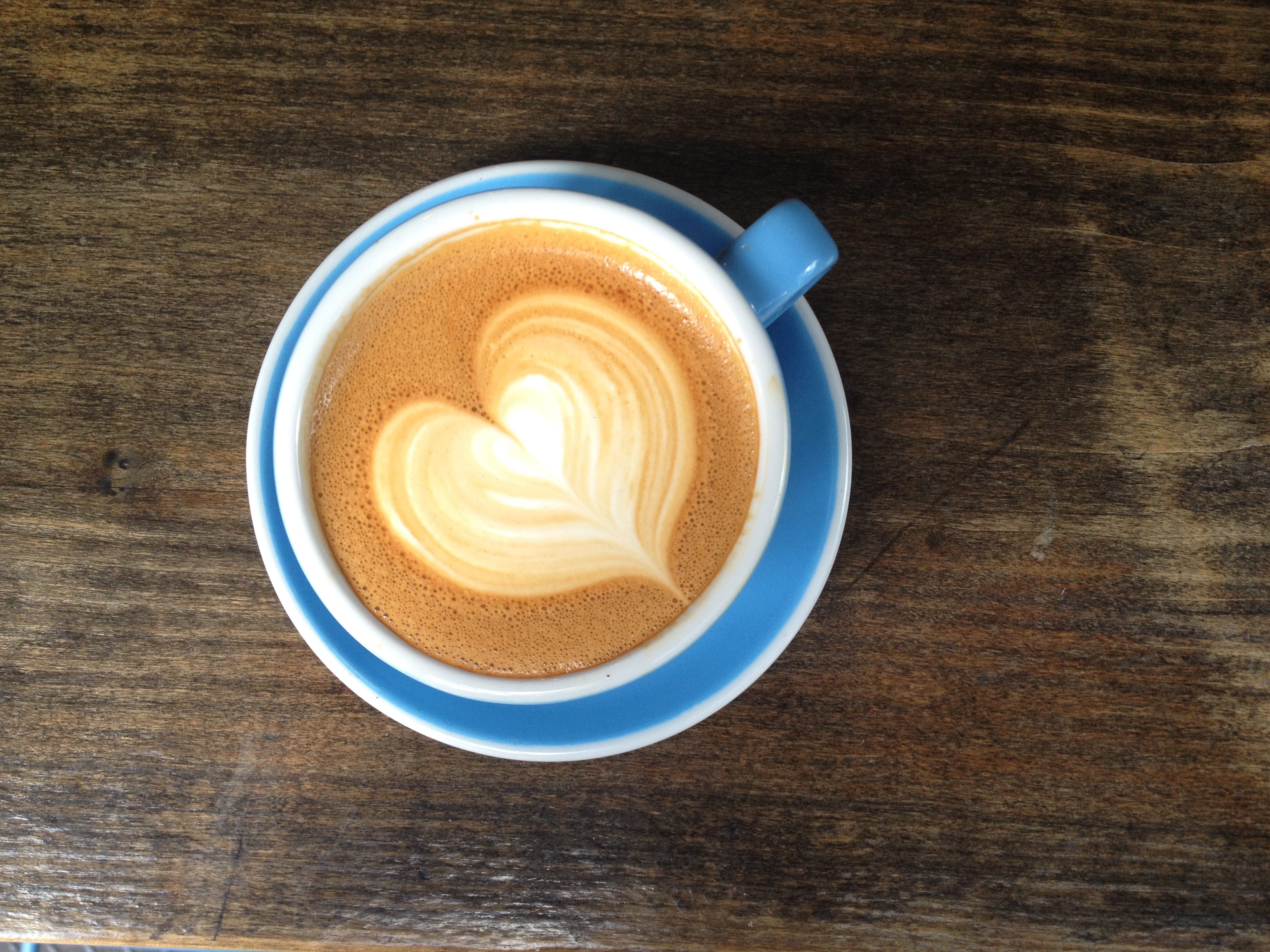 Creative coffee! How to make a latte heart design at home ...