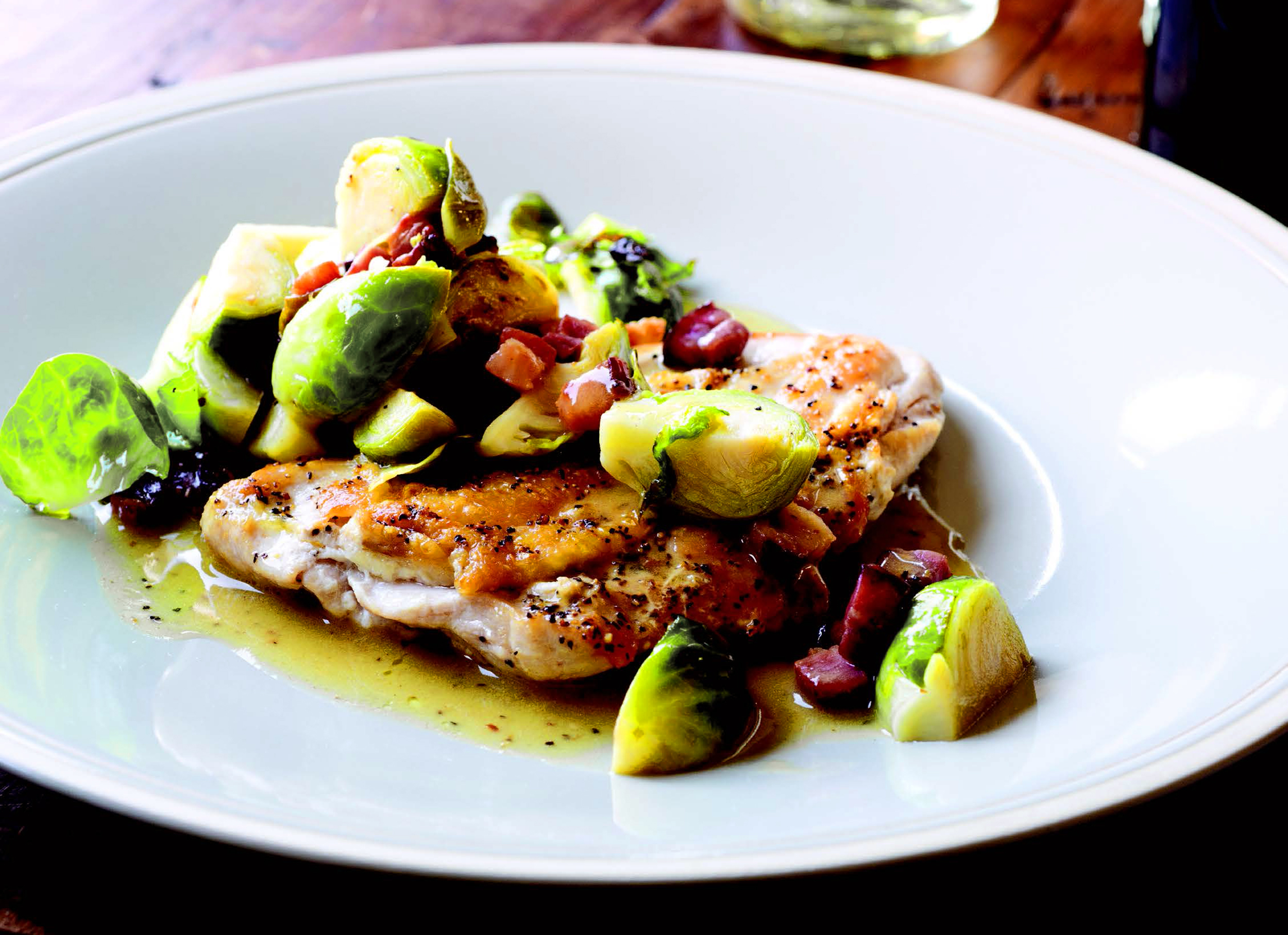 5 minute chicken breasts with bacon brussels sprouts today forumfinder Images
