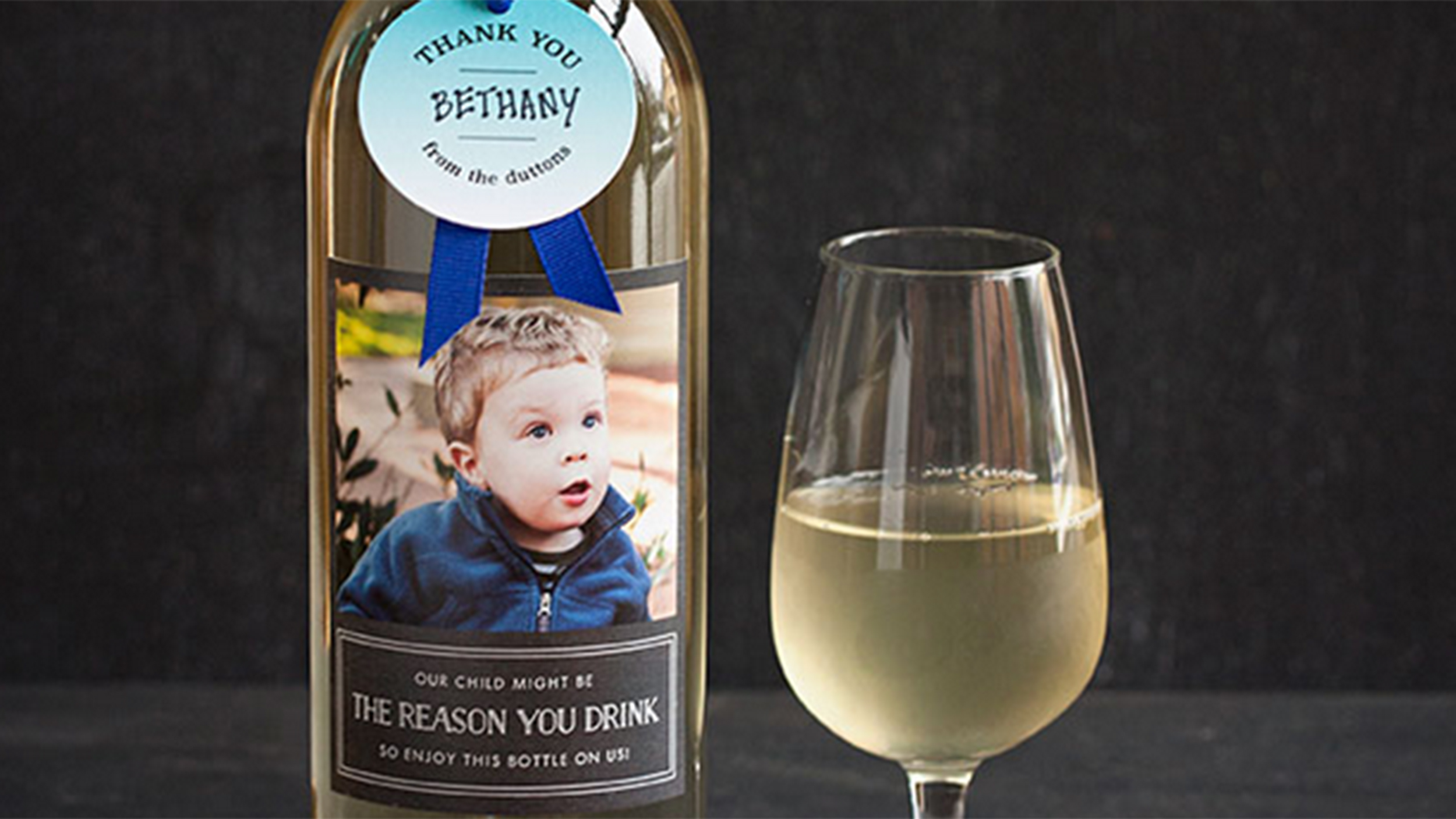 perfect teacher gift the reason you drink wine bottles