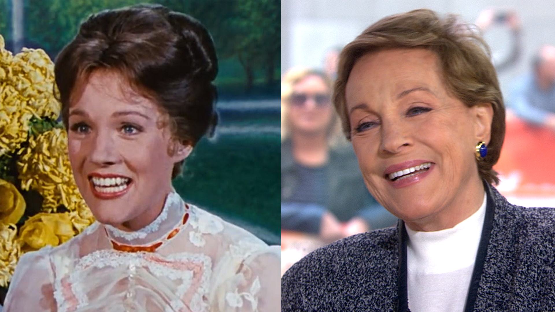 julie andrews gives blessing to new mary poppins movie