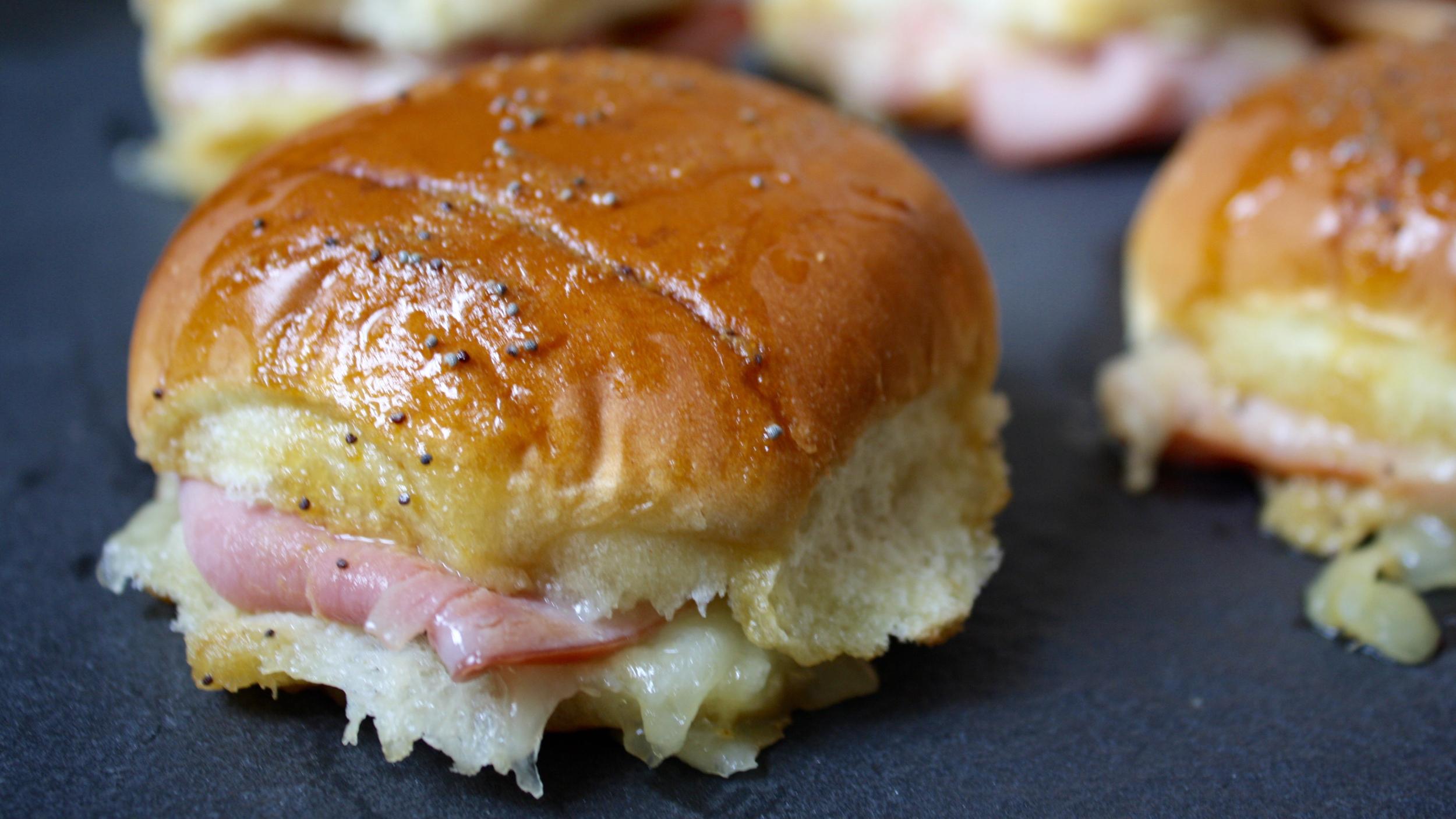Ham And Cheese Sliders With Honey Mustard Today Com