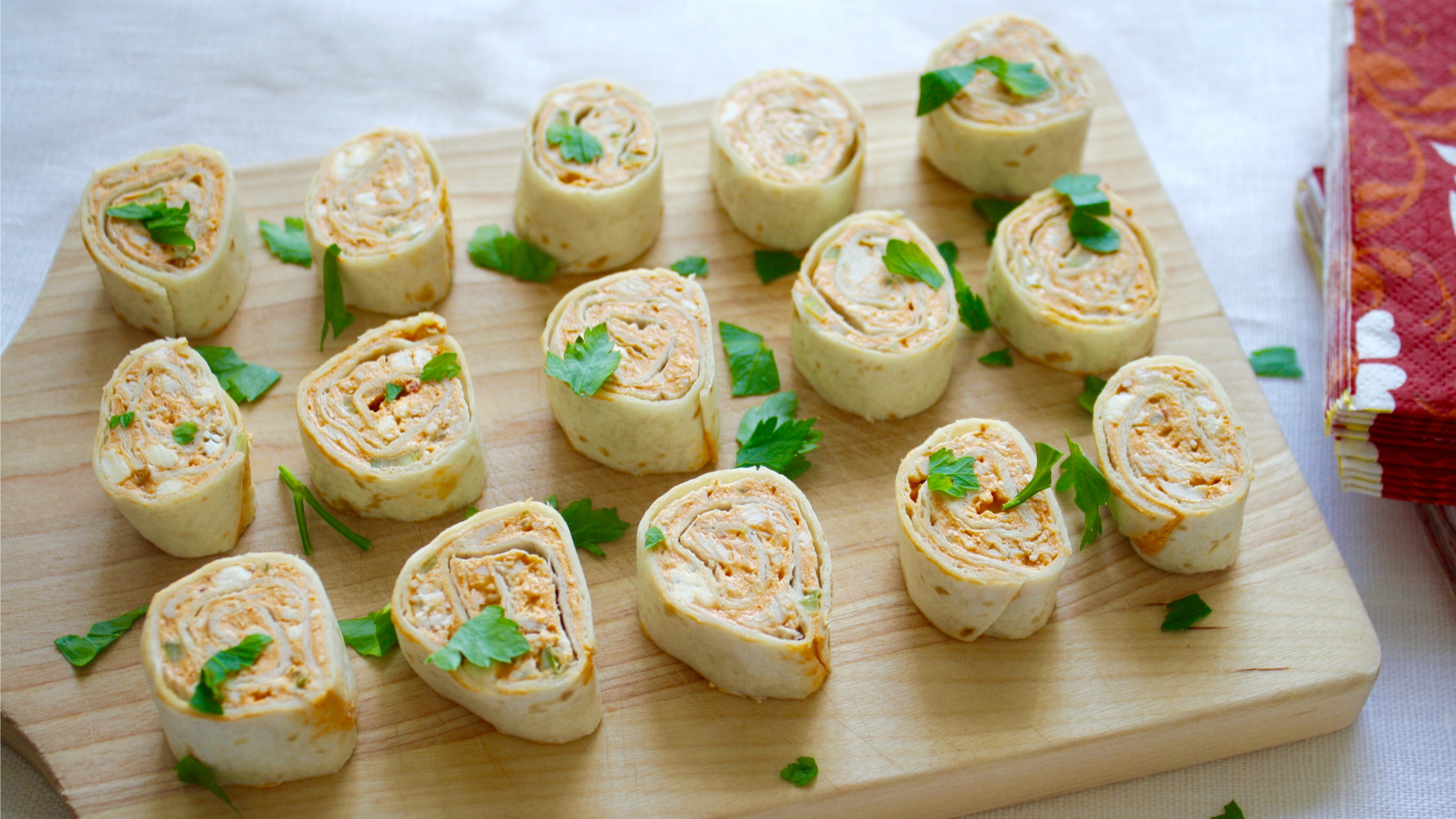 Tortilla roll-ups 3 ways: The perfect appetizer for game day or any ...