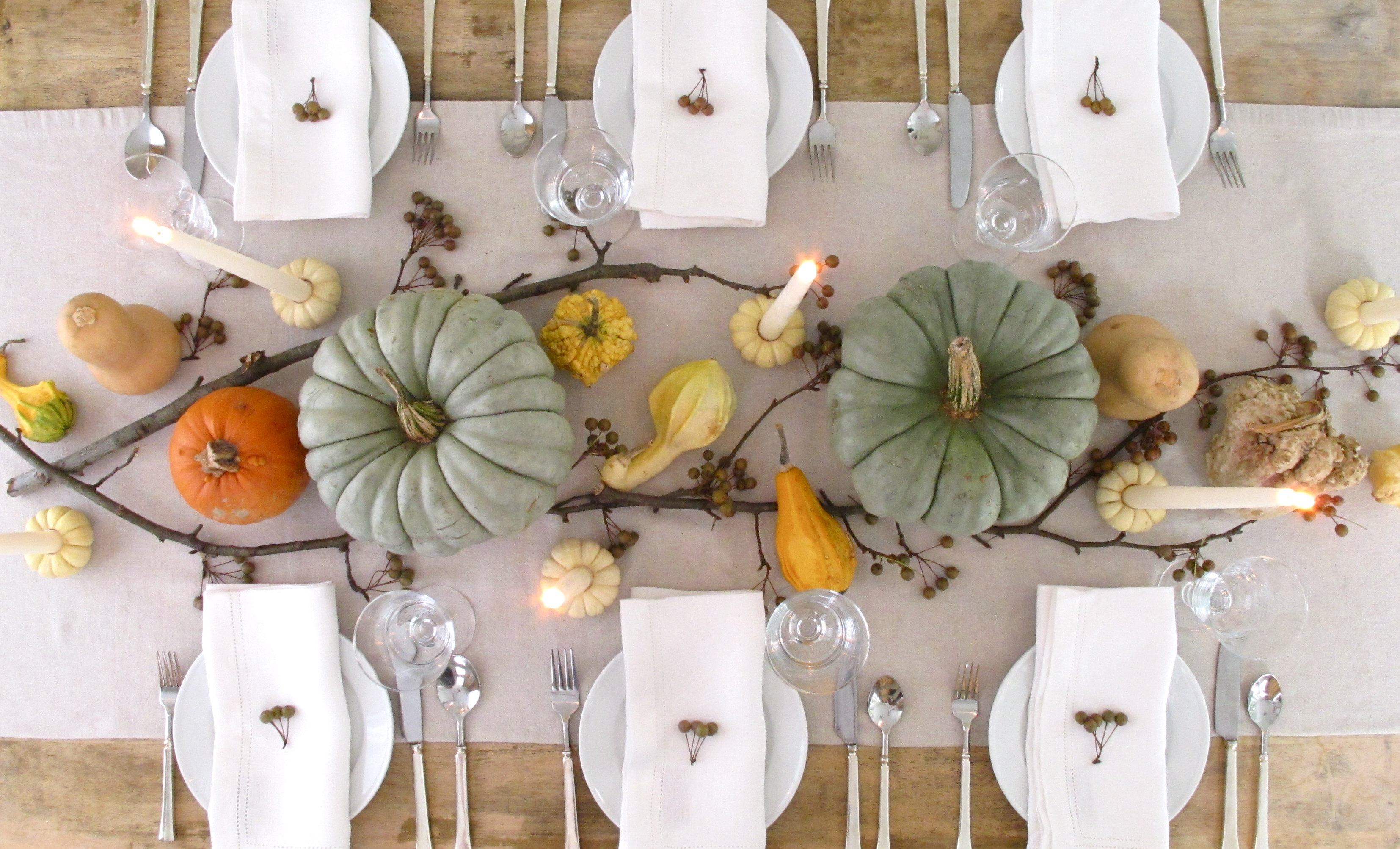 Our favorite thanksgiving day table settings for Elegant table setting for thanksgiving