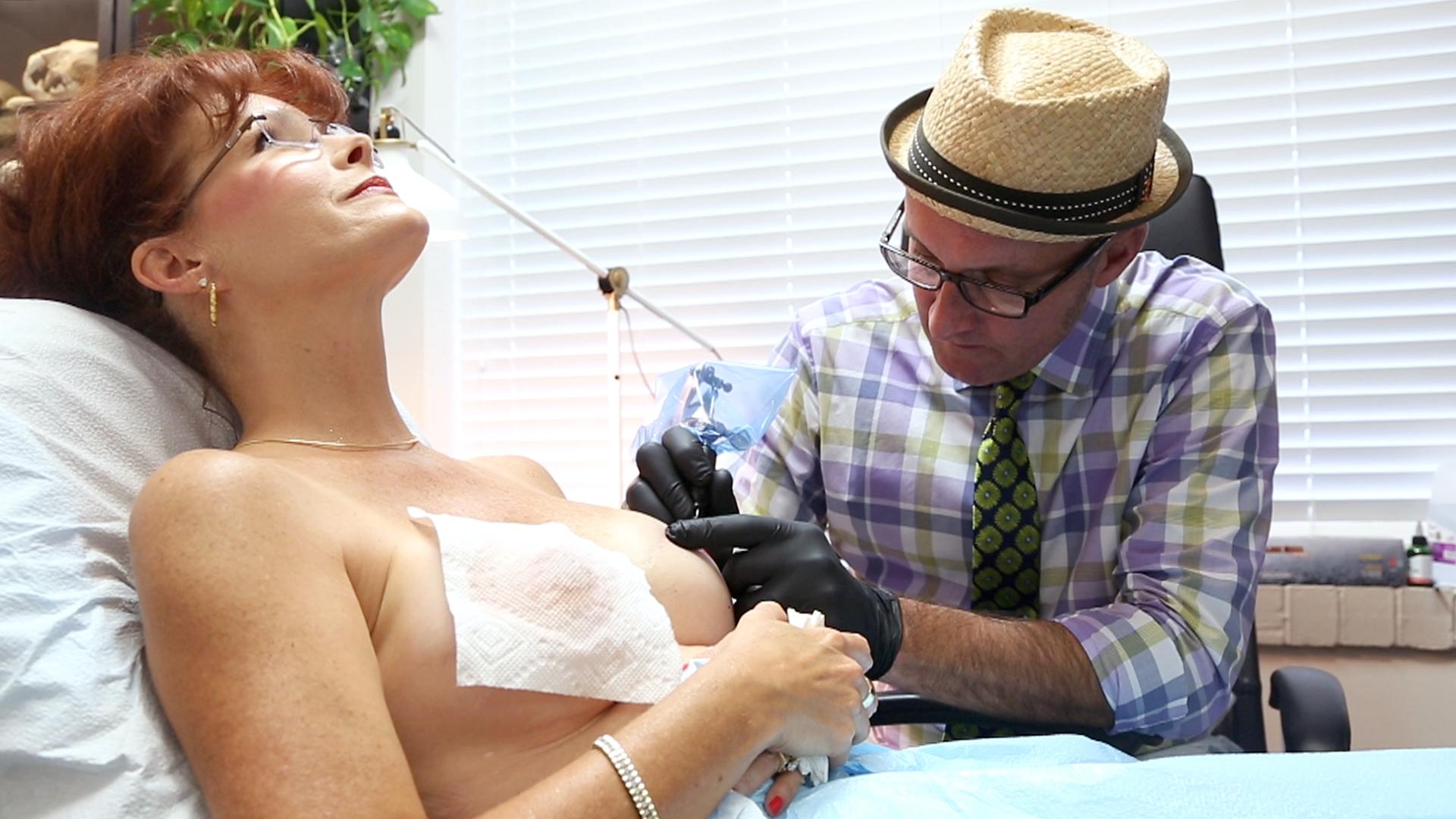 Guy Drills Tattooed Mate