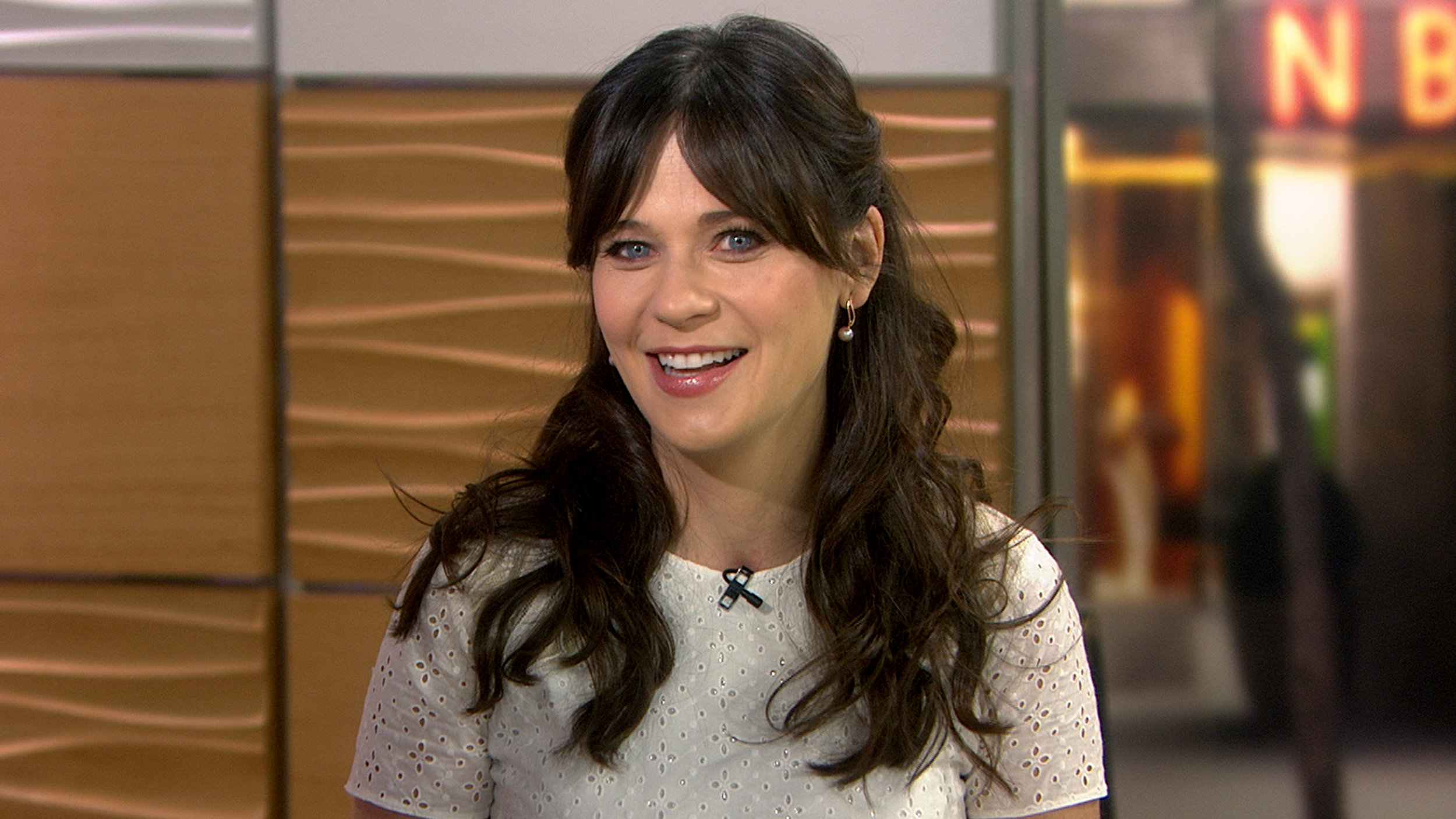 Zooey Deschanel Reveals Name Of Her Baby Elsie Otter