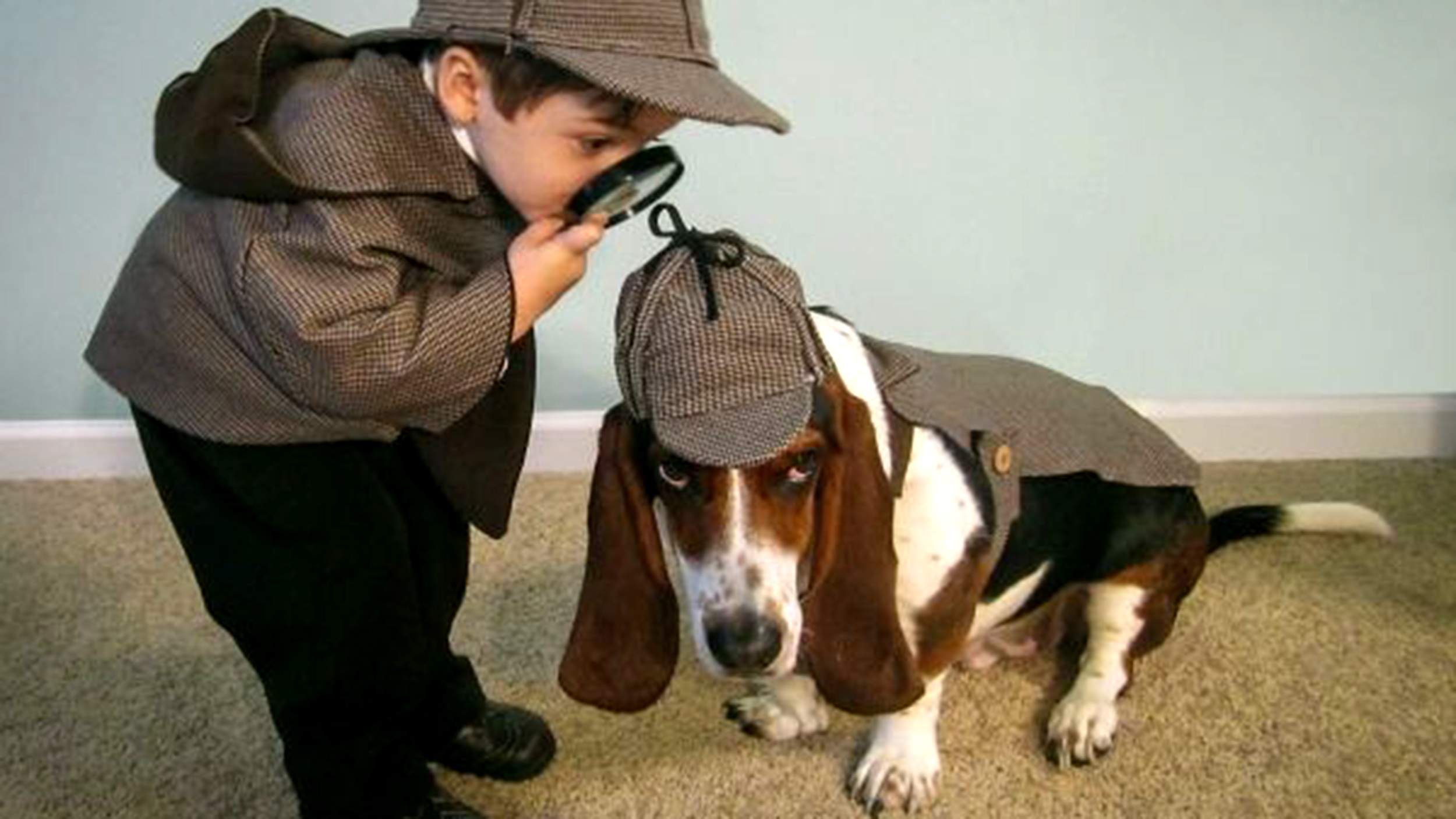 adorable halloween costume ideas for kid and pet duos
