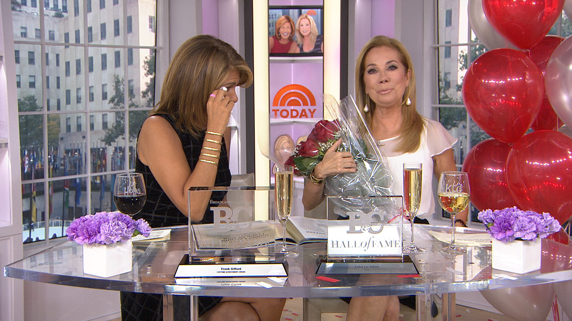 Kathie Lee Gifford Honors Husband In Broadcasting Hall Of