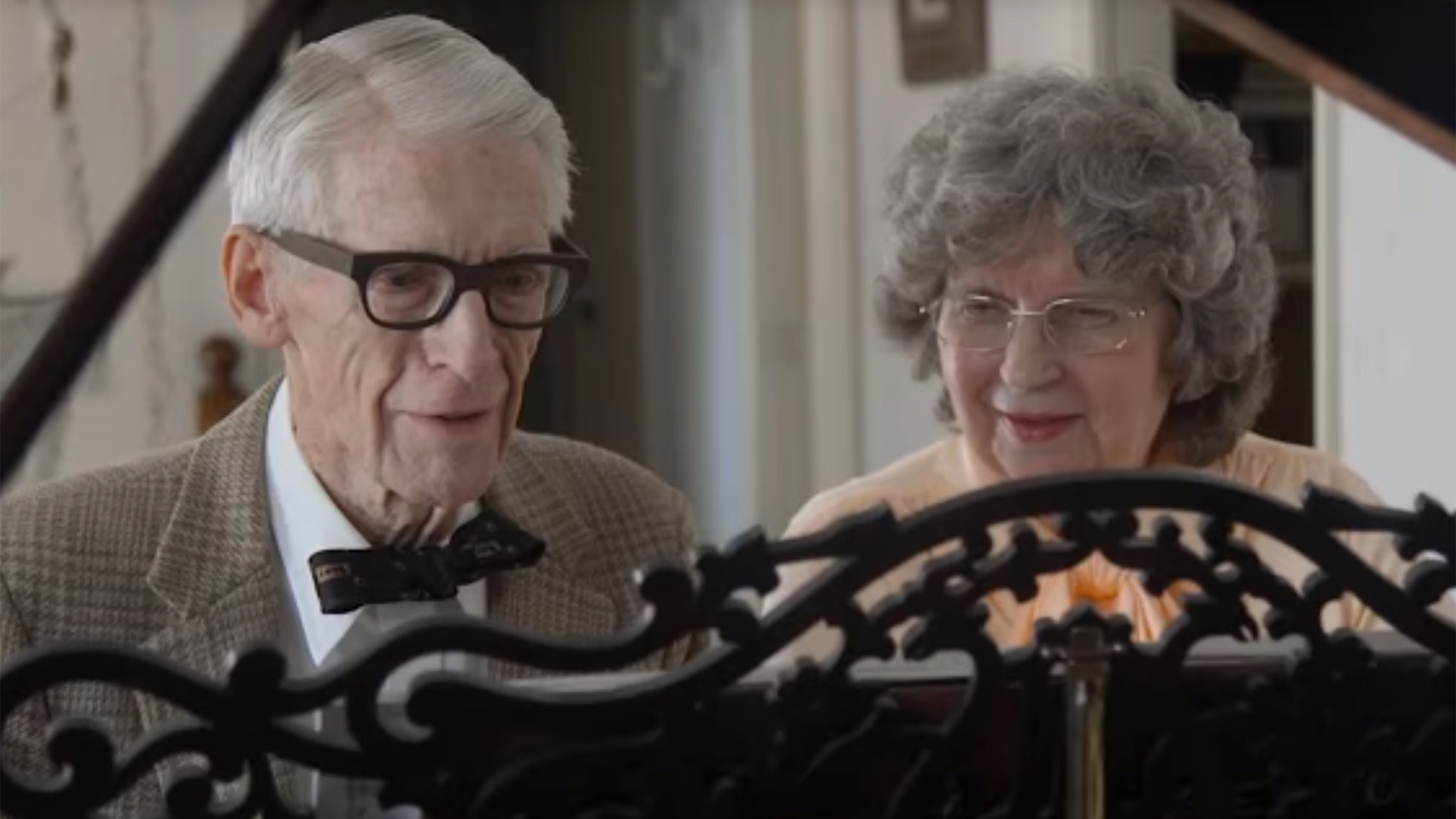 Couple recreates duet from Disney's 'Up' for their 62nd