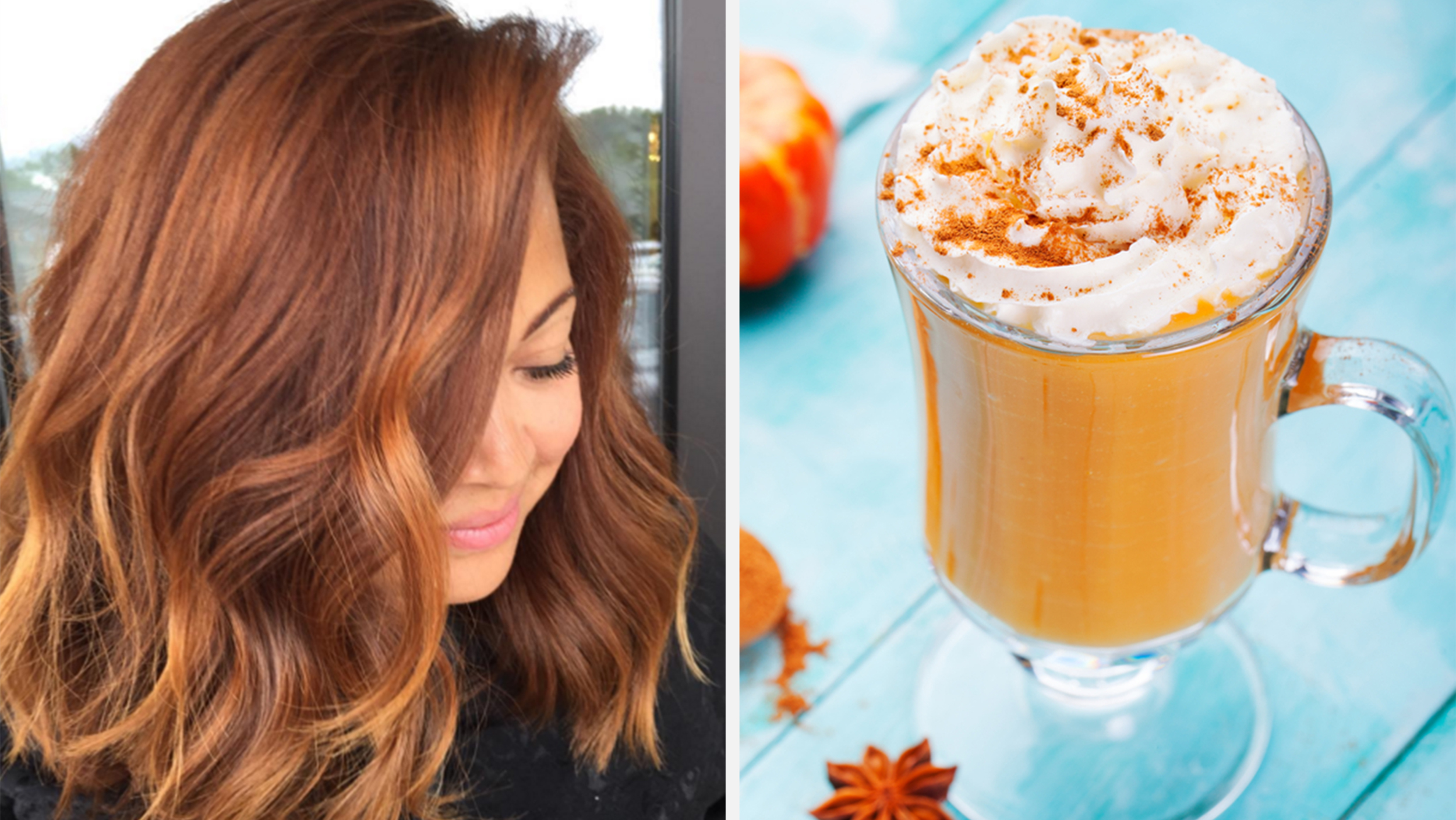 Bien connu Pumpkin spice hair is the latest version of the fall craze UN31