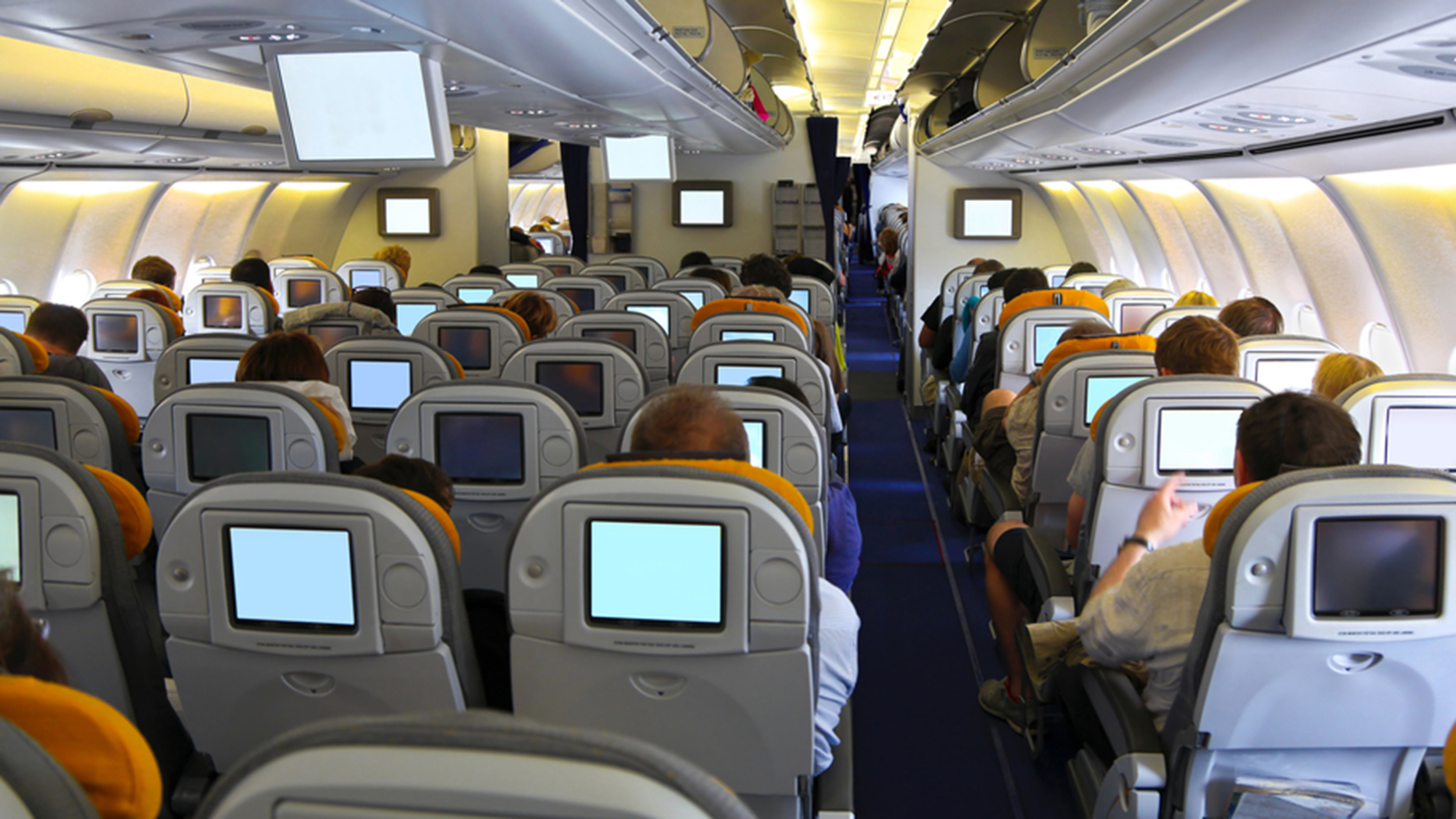Some airlines are ditching in-flight entertainment systems for