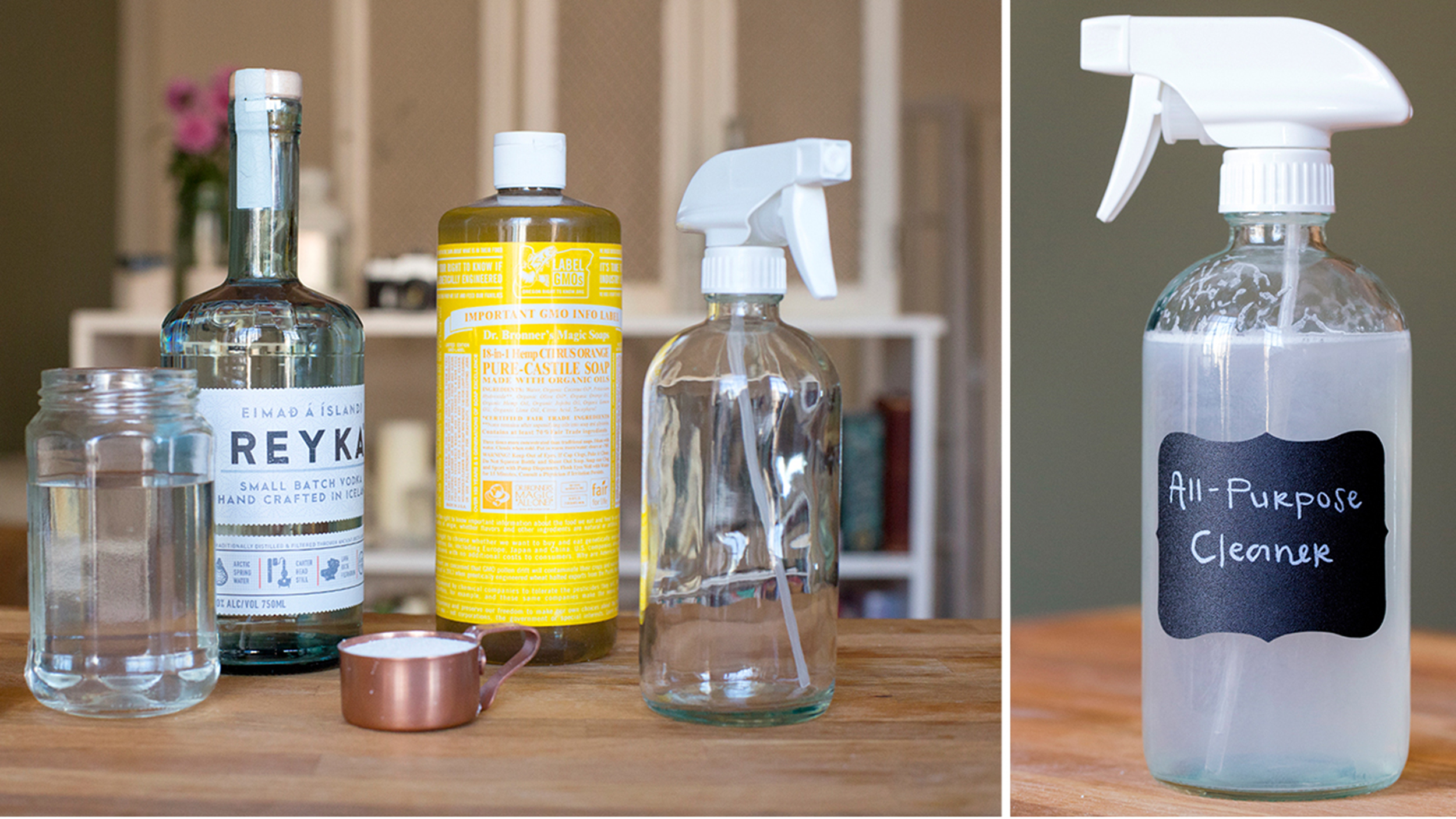 It's easier than you think! DIY all-purpose cleaner you can make in 5 minutes