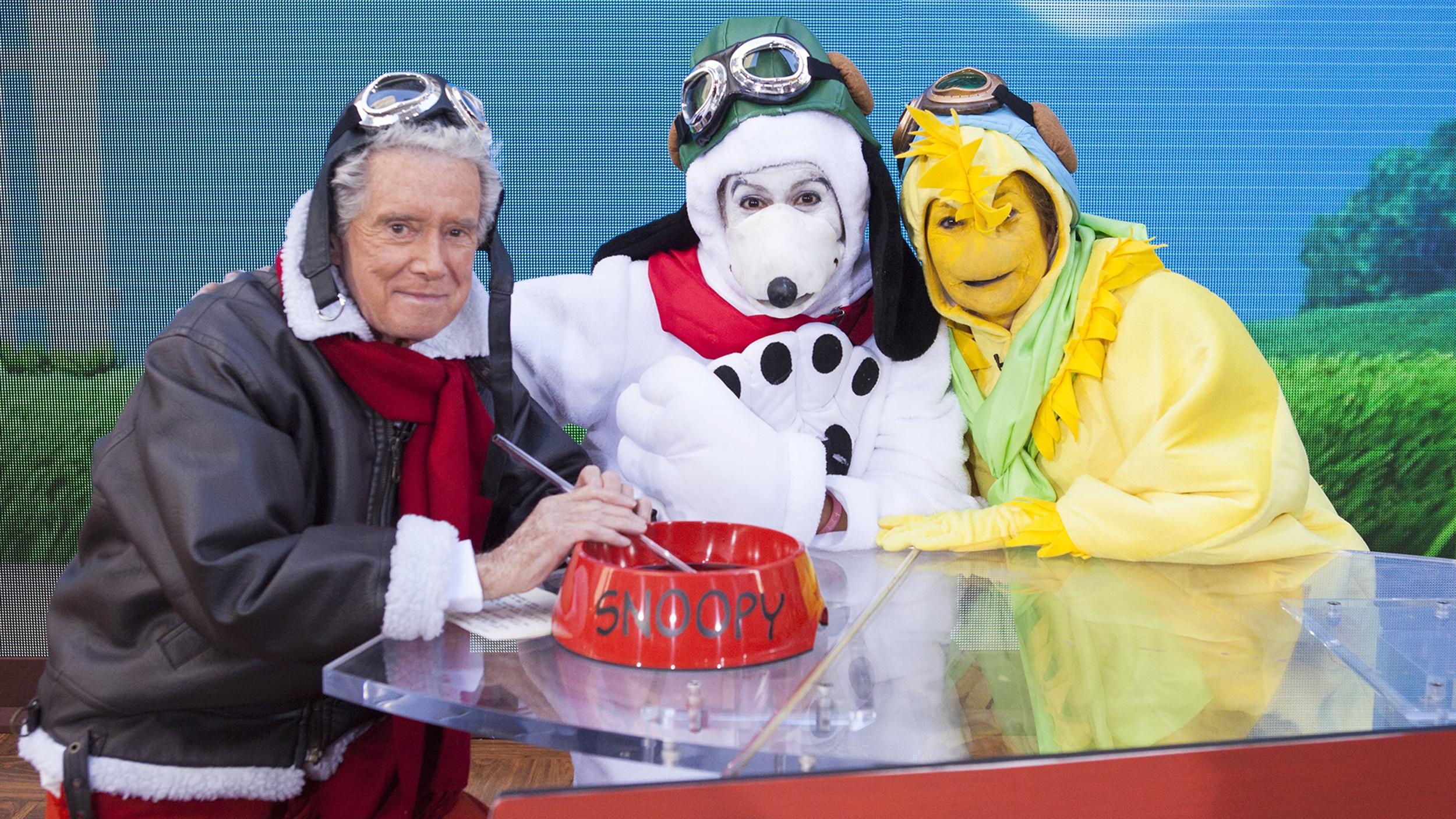 See Kathie Lee, Hoda's Halloween antics with guest star Regis ...
