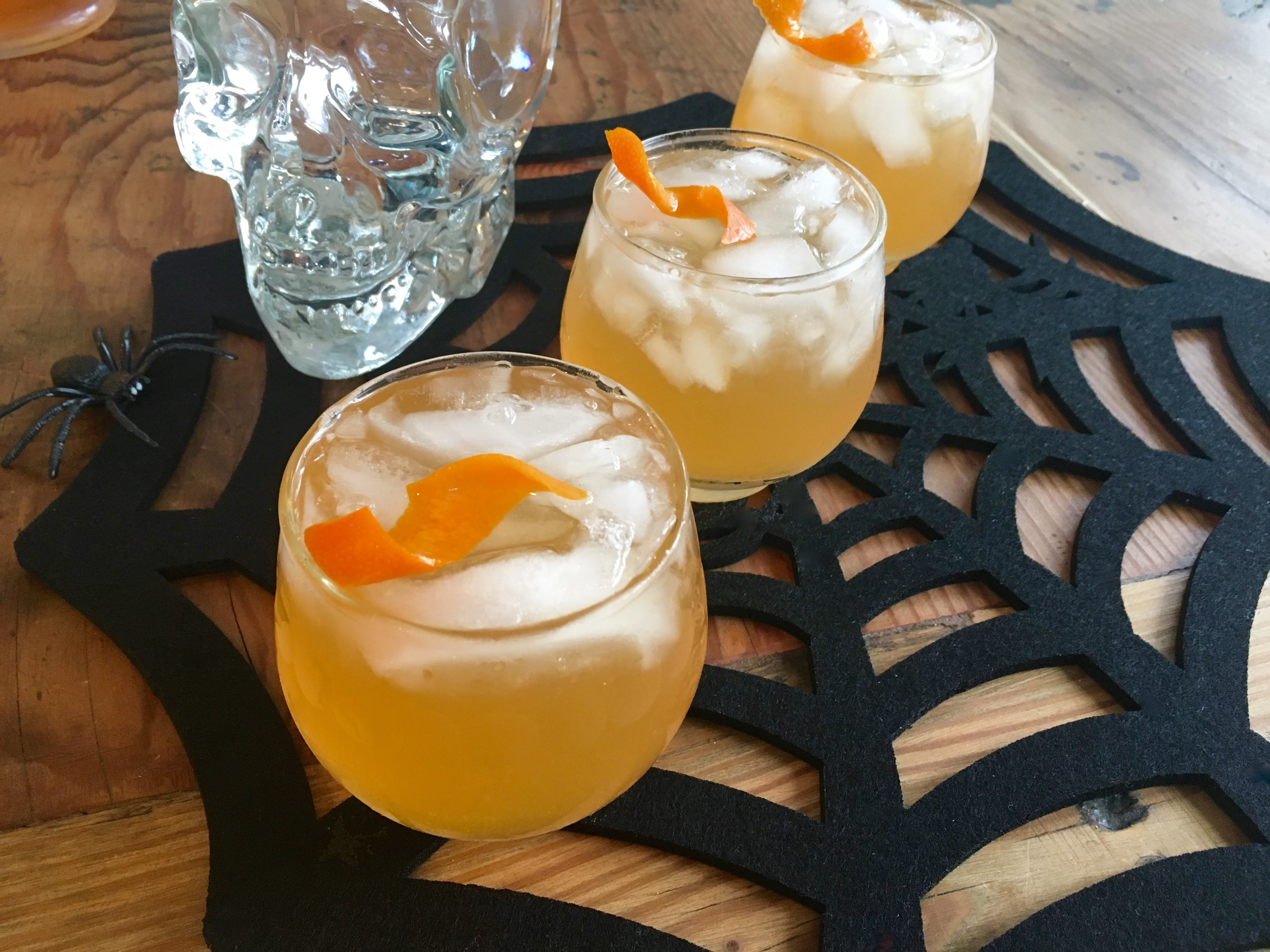 Make this orange Halloween party pitcher cocktail for a crowd ...