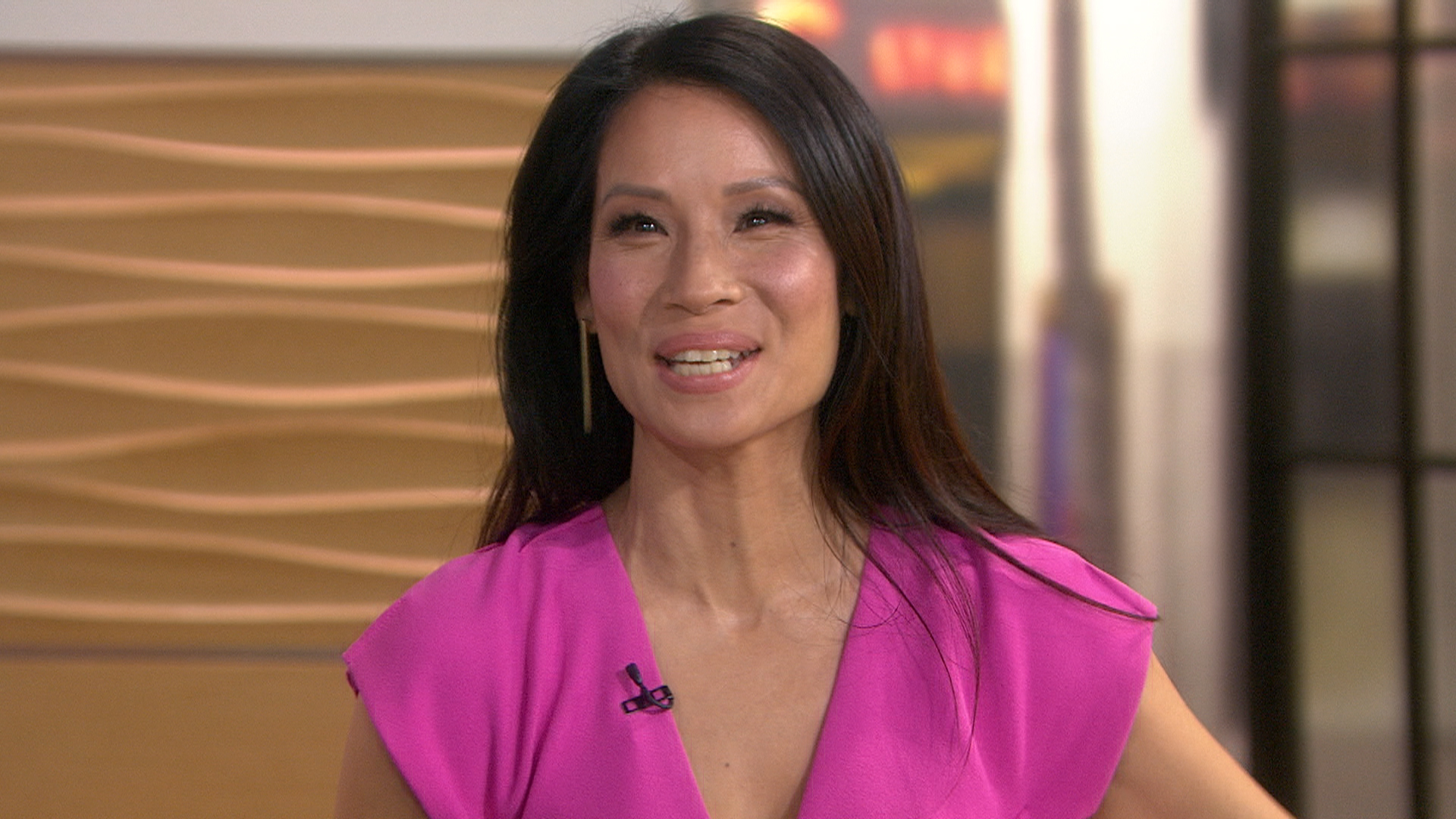 Lucy Liu: 'Every day is just a miracle' with newborn son Rockwell - TODAY.com