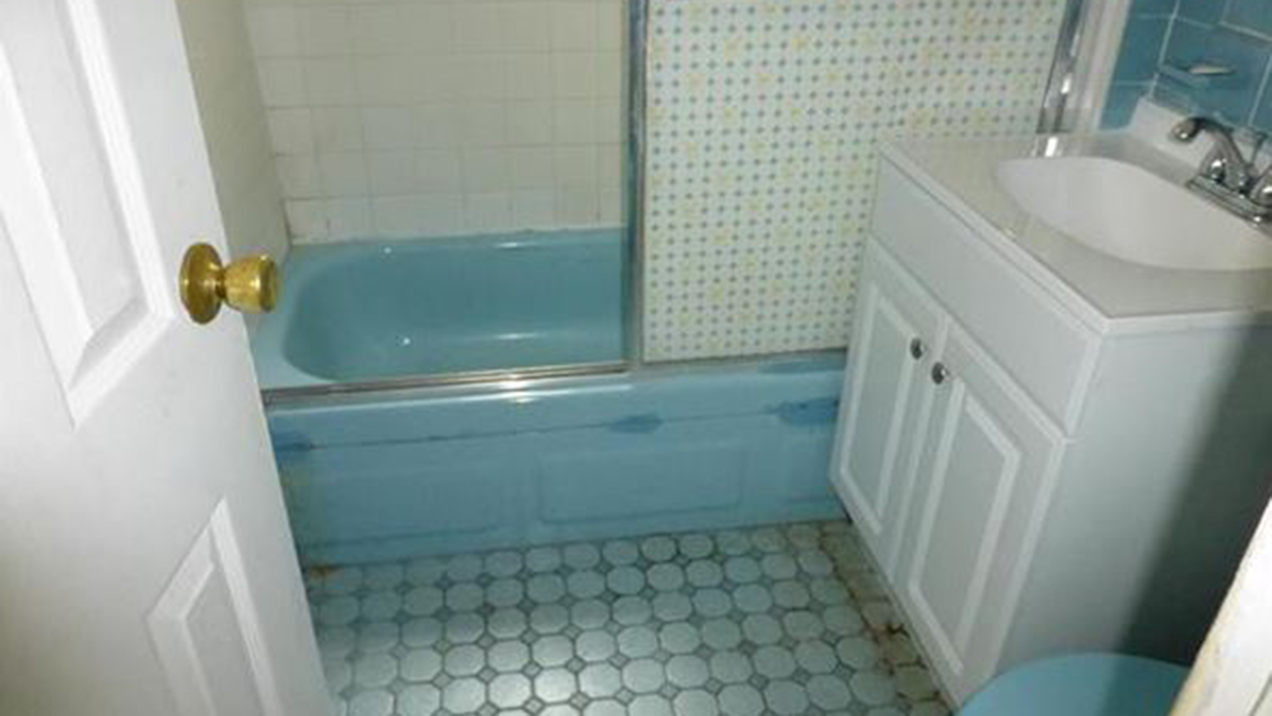 See this 105 year old home s bathroom go from blue to beautiful   TODAY com. See this 105 year old home s bathroom go from blue to beautiful