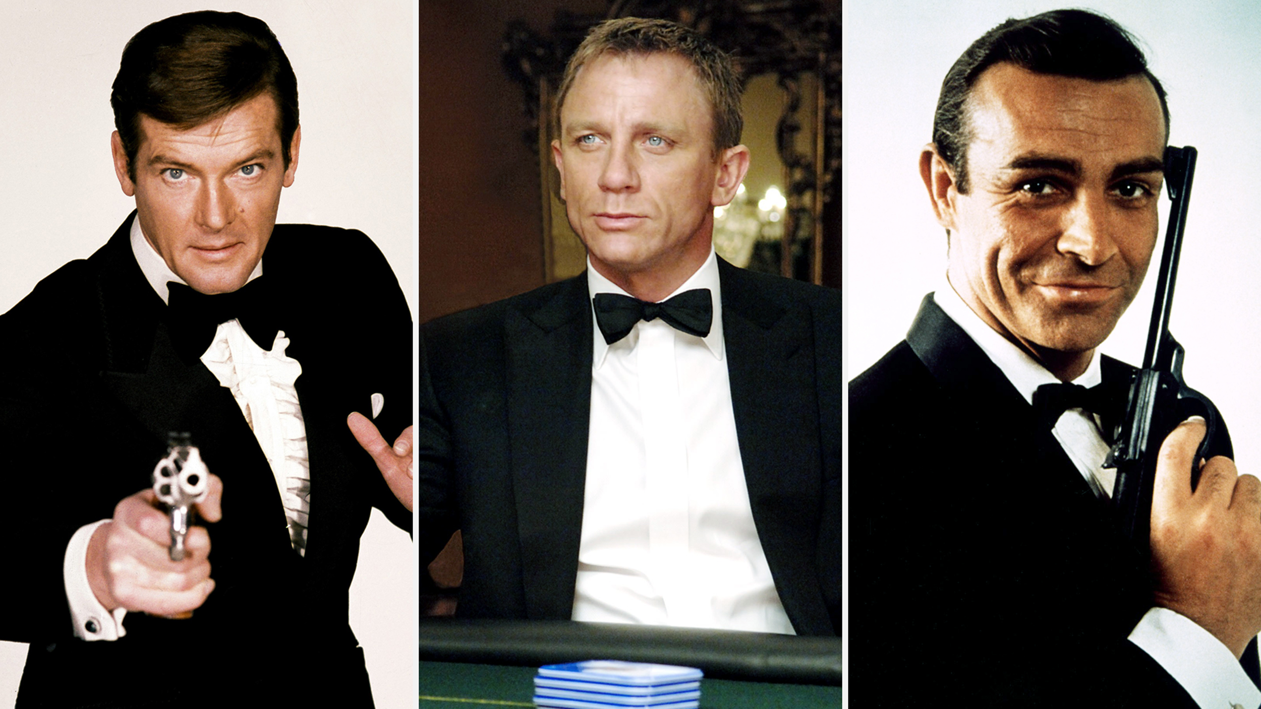 James Bond See Style Evolution From Dr No To Spectre
