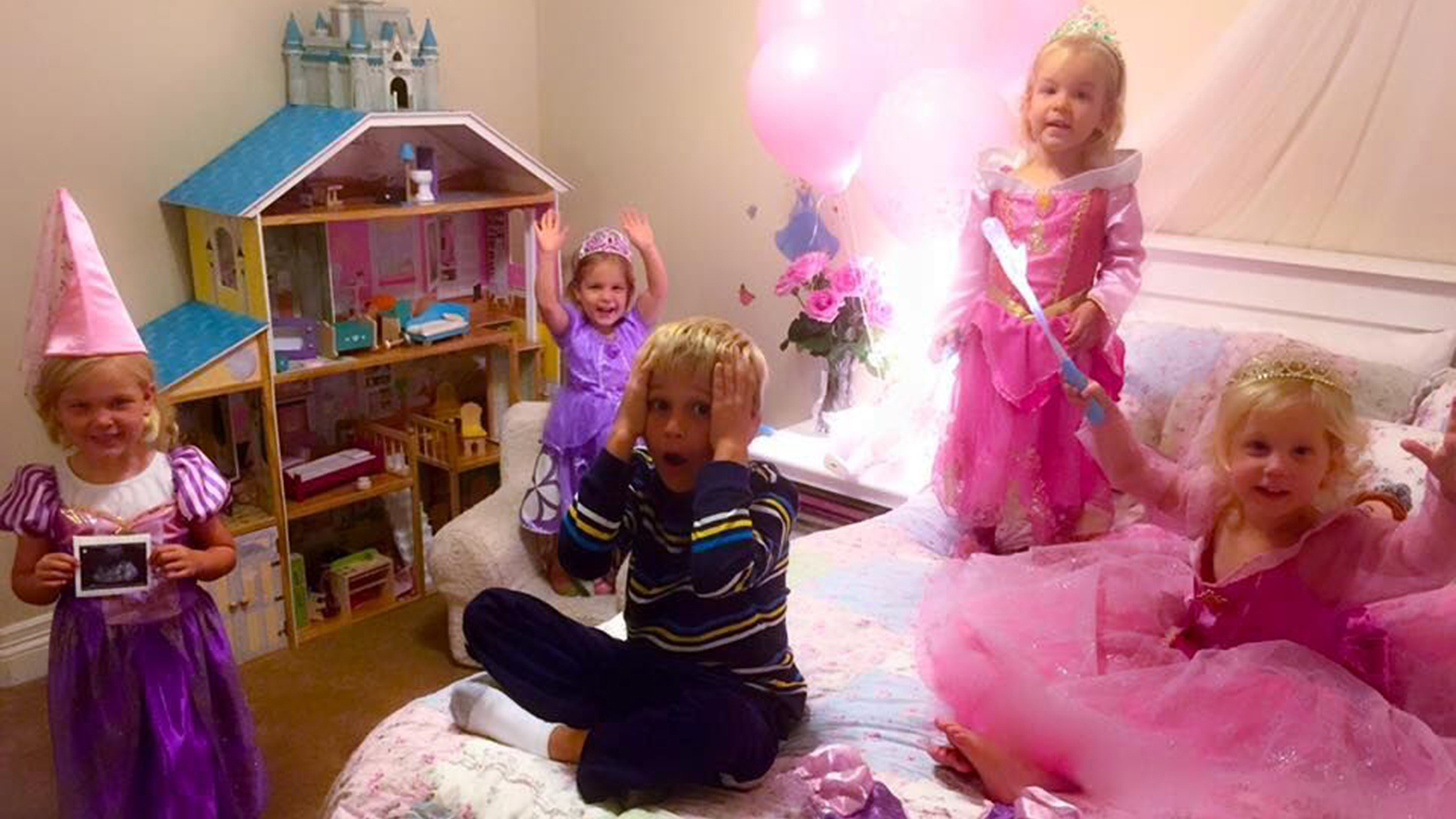 This Boy S Reaction To Having A Fifth Sister Is Priceless