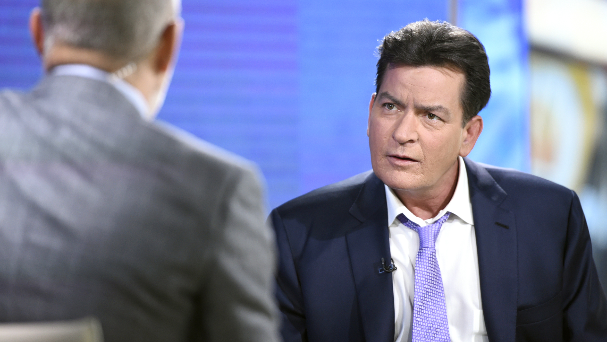 Image result for charlie sheen talk show
