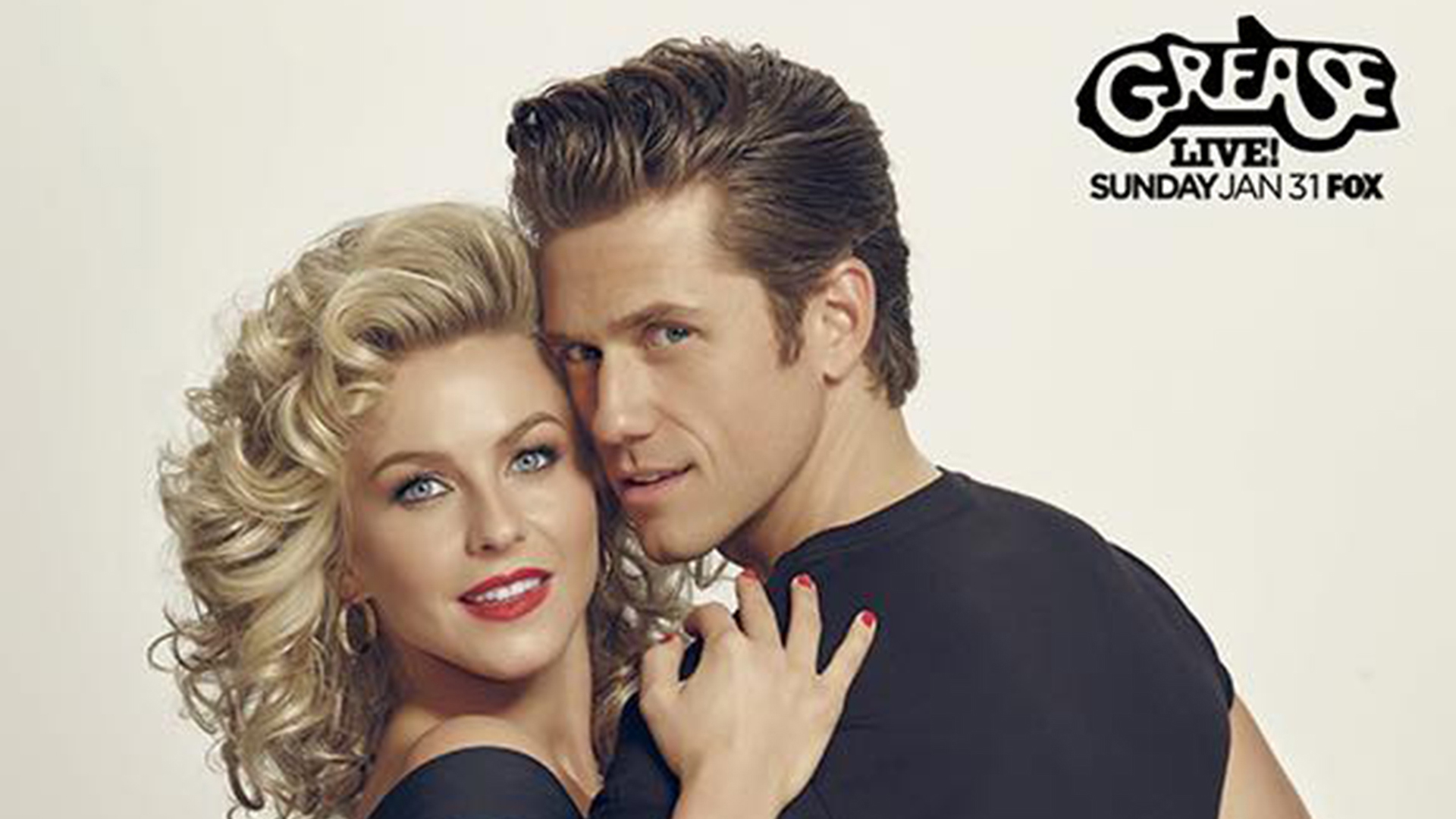 First Grease Live Photos Released See Danny Sandy And