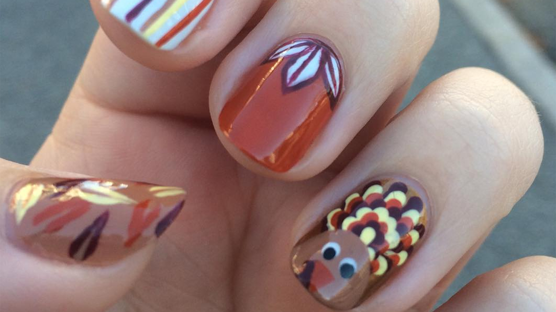 Fabulous Nails Blandford Street Thanksgiving Nails Instagram Cabbeffabdeabbad