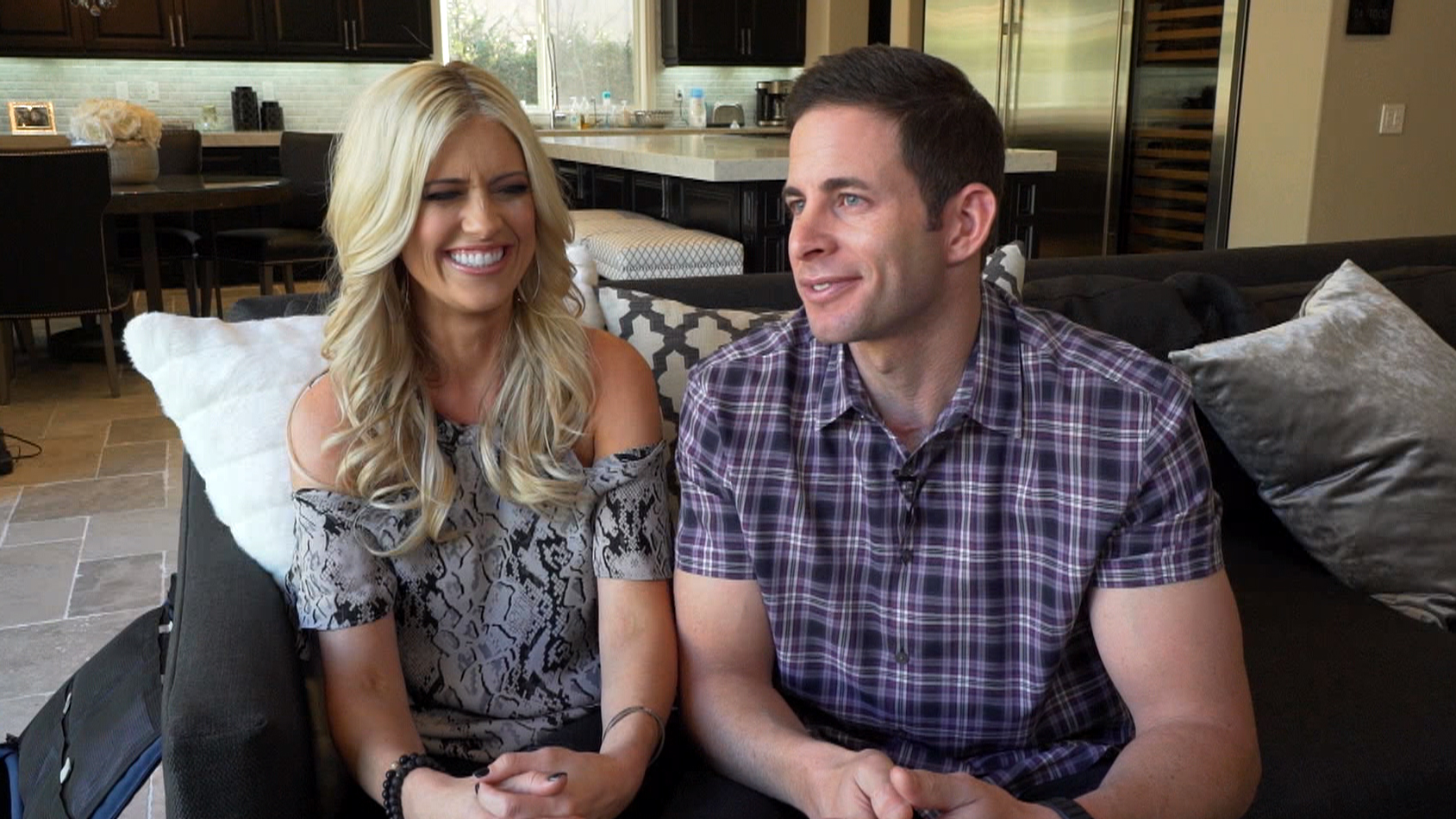 how hgtv star tarek el moussa u0027s cancer spotted by fan changed