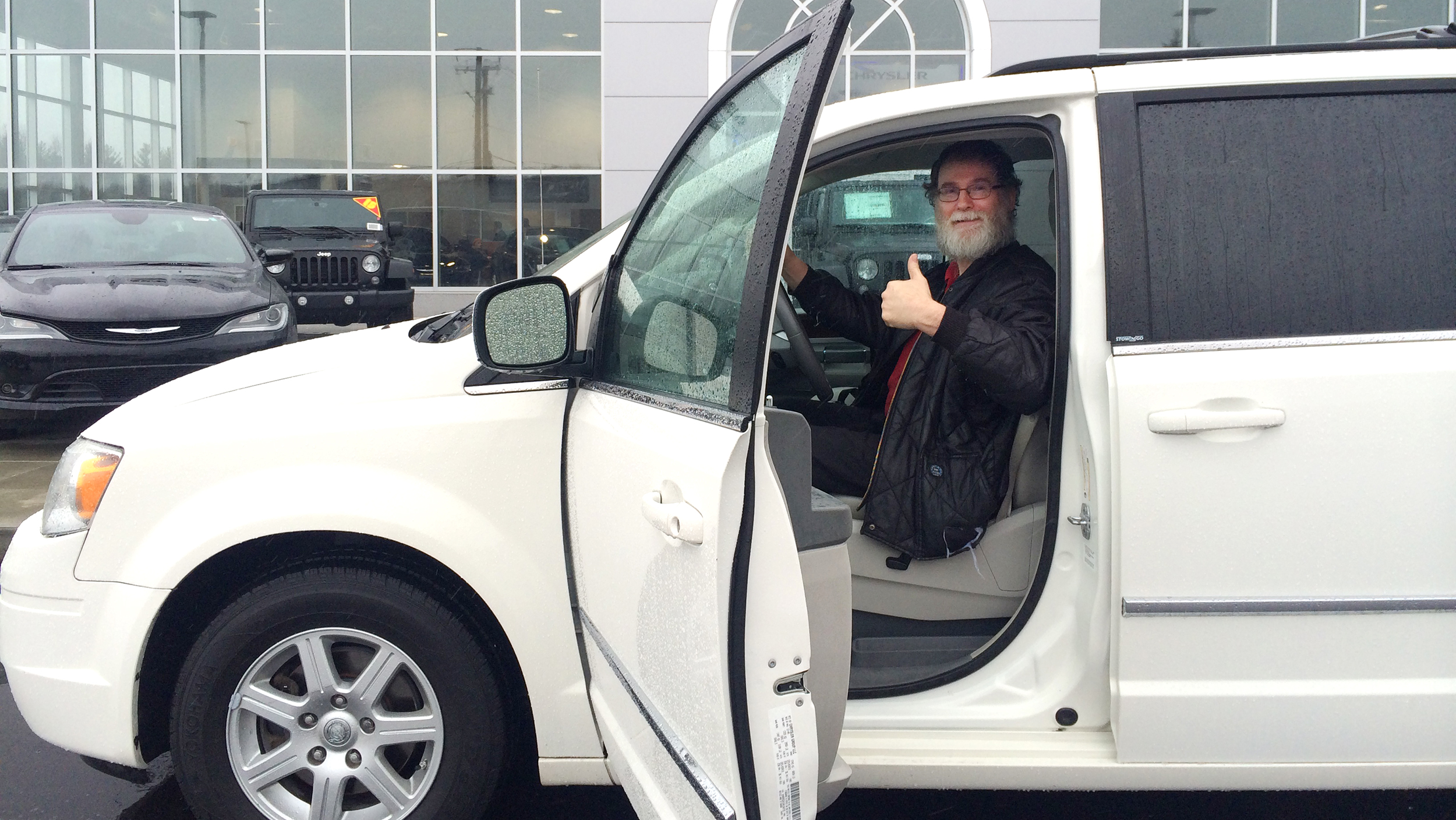 Community buys car for man who biked 14 miles to work: I'm 'at a loss for words'