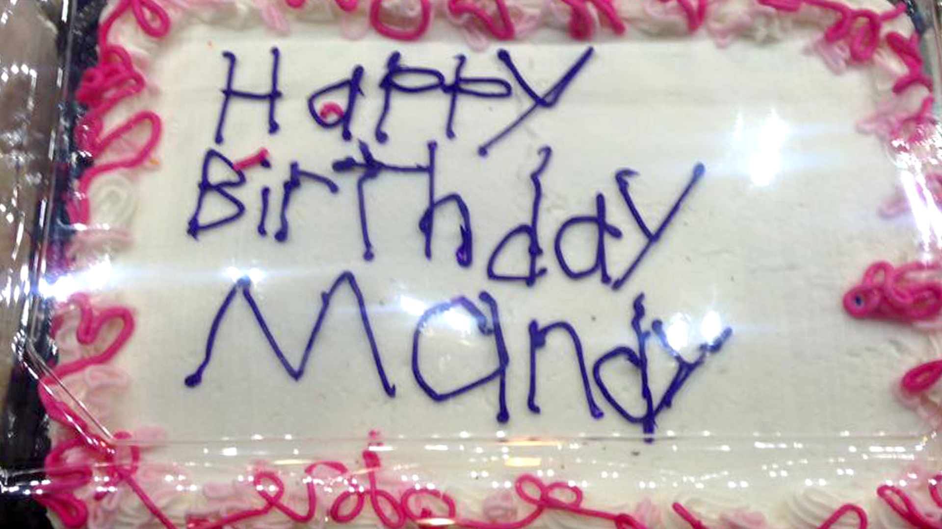 Heartwarming Story Behind Meijer Bought Birthday Cake Melts Internet