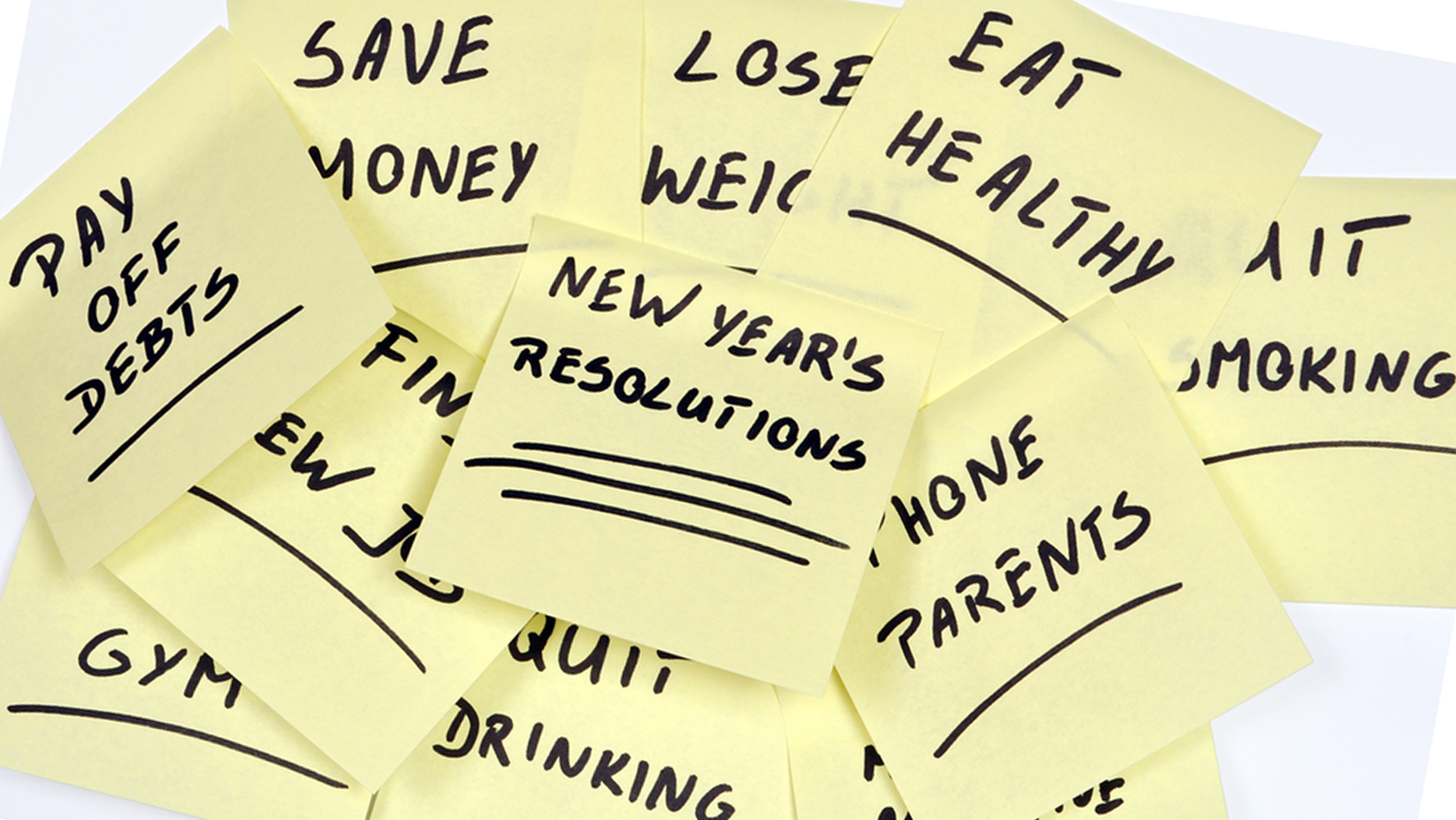 5 new year�s resolutions you�ll break and how to change