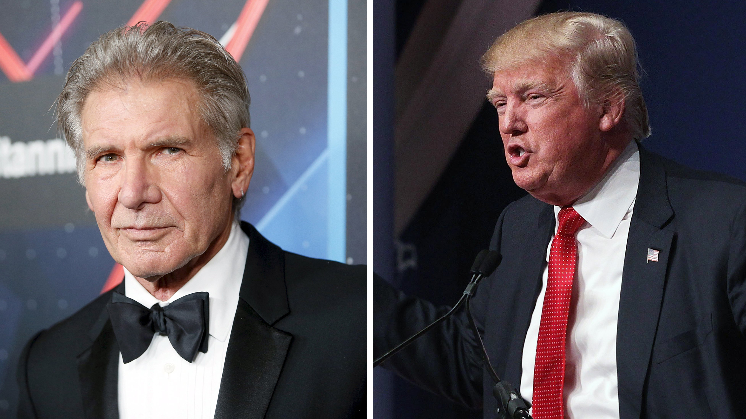 Harrison Ford reminds Donald Trump that 'Air Force One' was