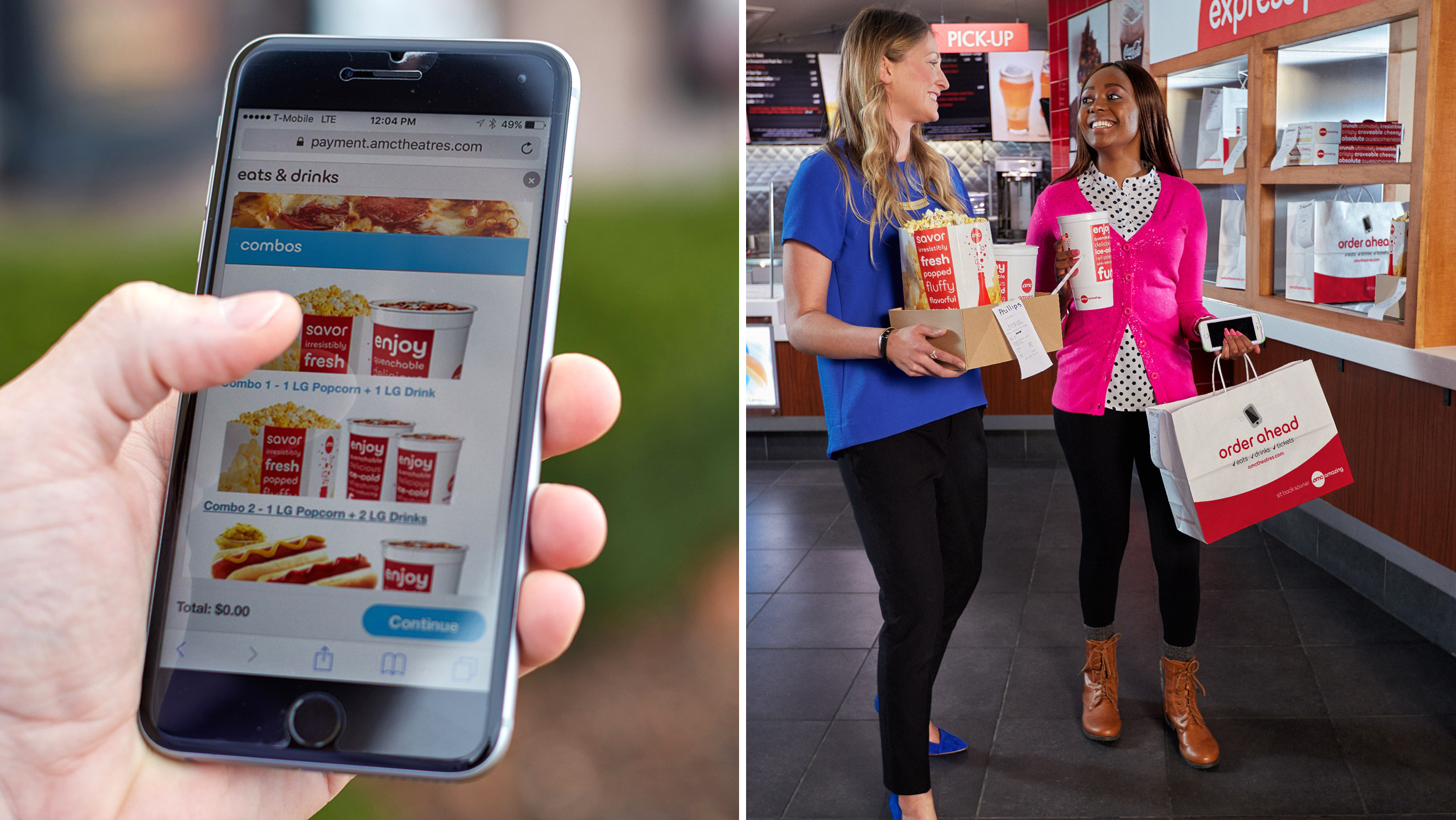 Pay Dc Tickets Online >> Want to order movie-theater snacks in advance? There's an app for that - TODAY.com
