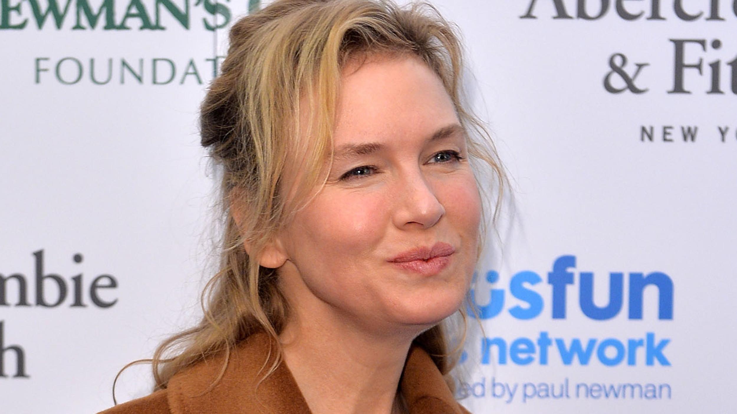 Bridget Jones is in la... Renee Zellweger Face