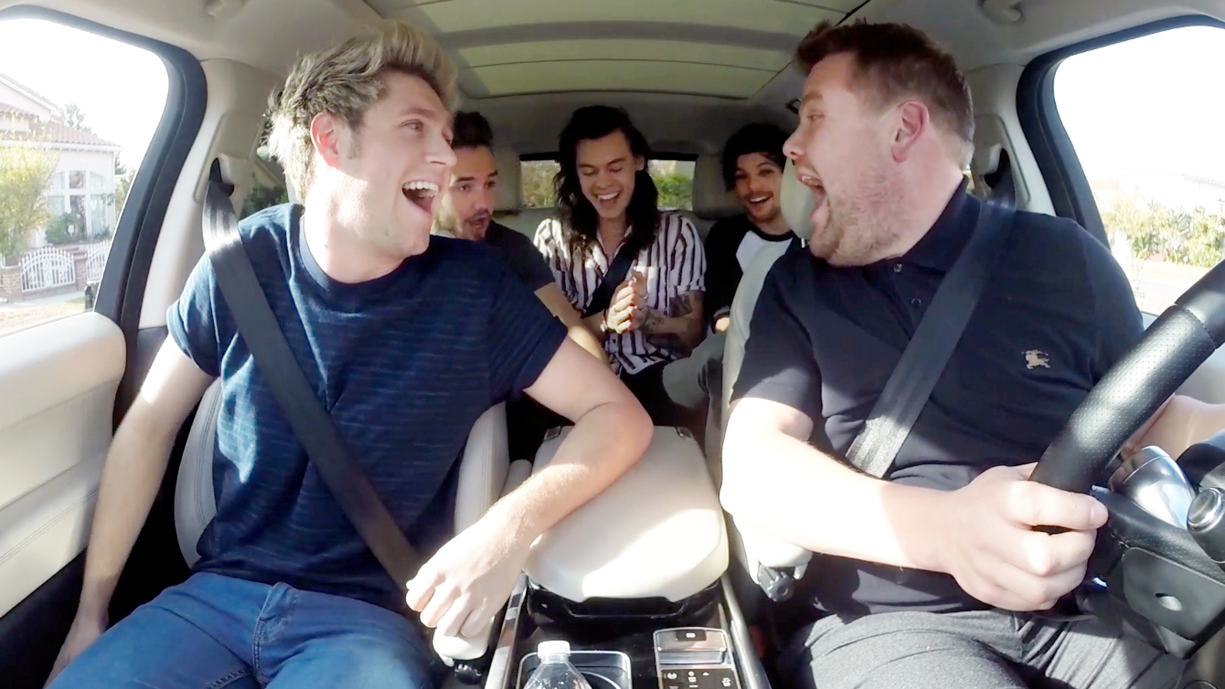 James Corden Joins One Direction For Hilarious Carpool Karaoke