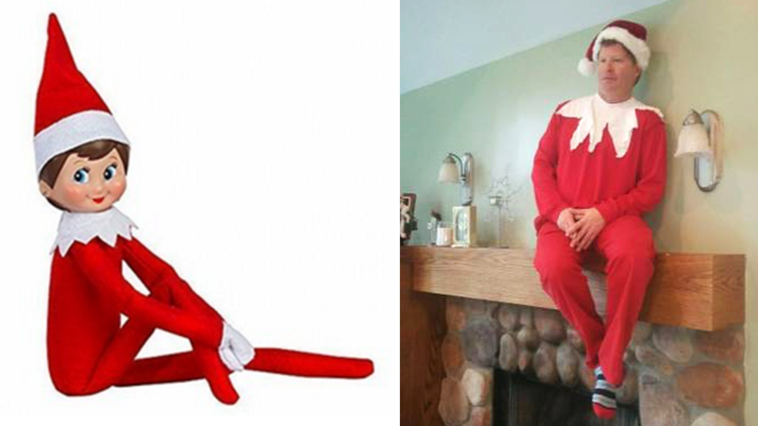 Boston man offers to pose as living elf on the shelf in - Christmas elf on the shelf wallpaper ...