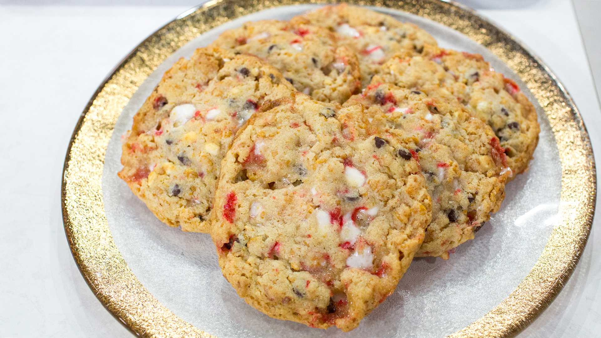 Christina Tosi S Cornflake Chocolate Chip Peppermint Cookies